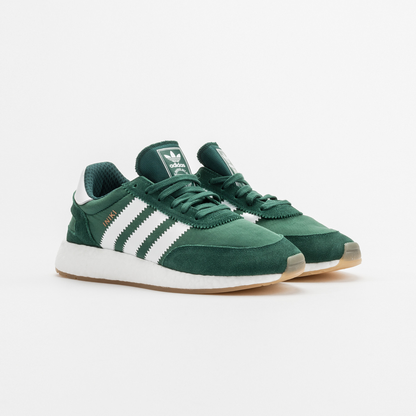 adidas iniki runner collegiate green white by9726. Black Bedroom Furniture Sets. Home Design Ideas