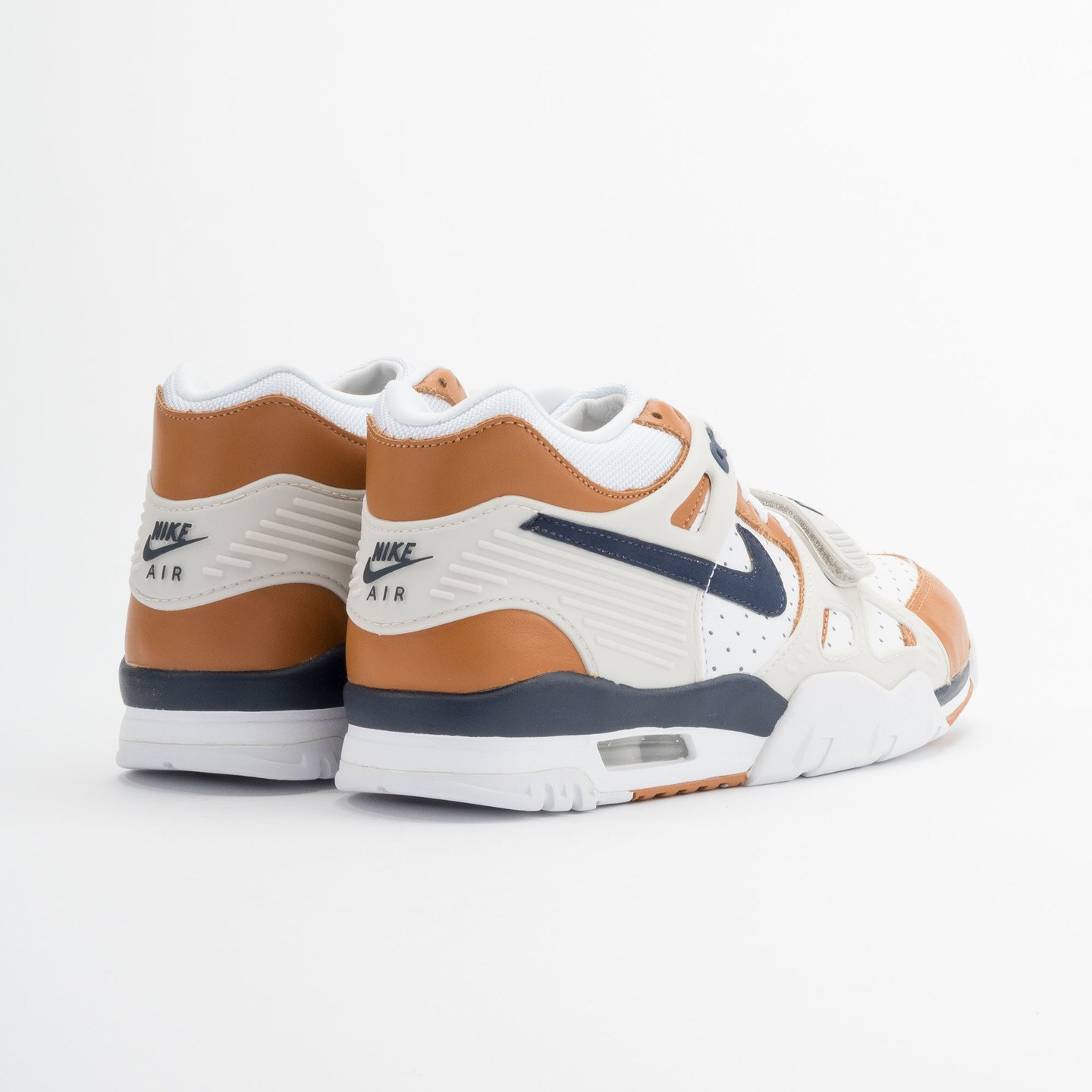 Nike Air Trainer 3 Premium Medicine Ball White/Mid Navy-Gngr-Lght Bn 705425-100-40.5