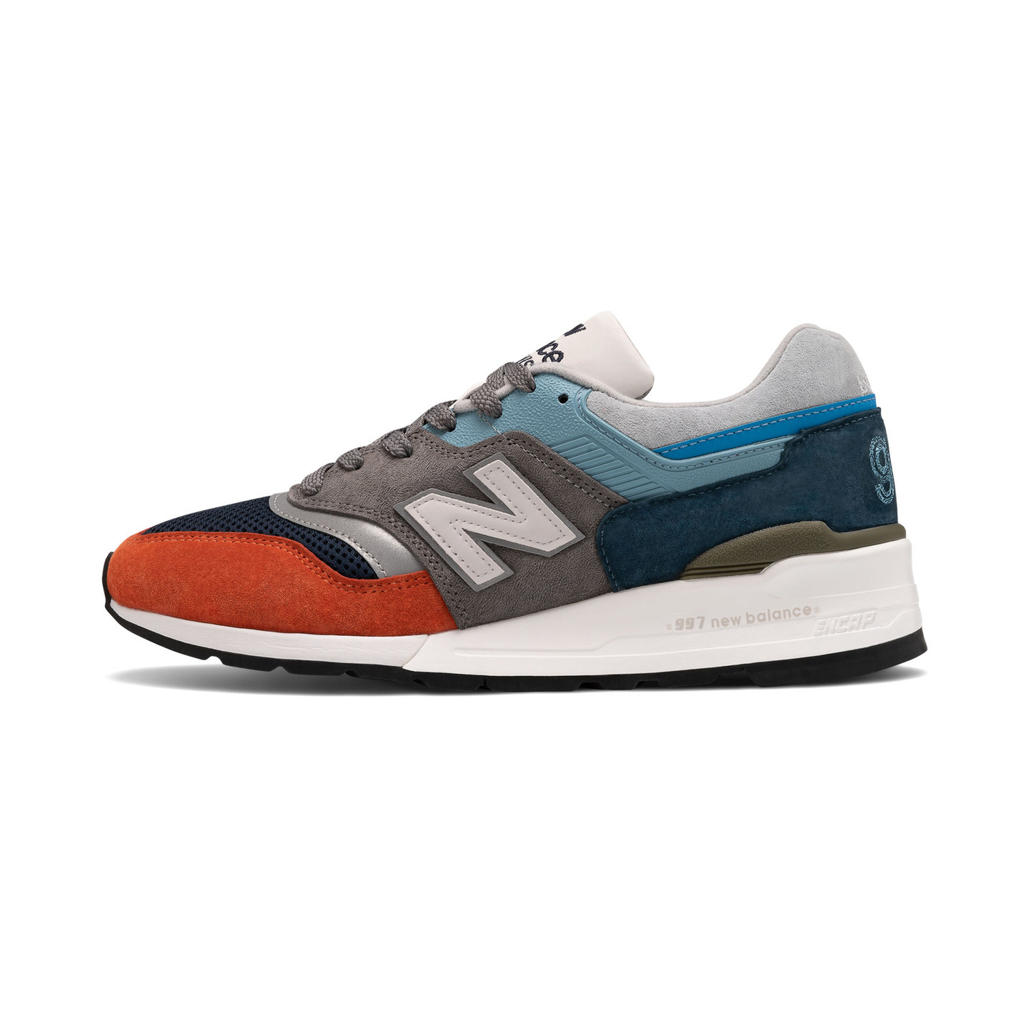 New Balance M997 - Made in USA Light Blue / Grey / Multicolor M997NAG