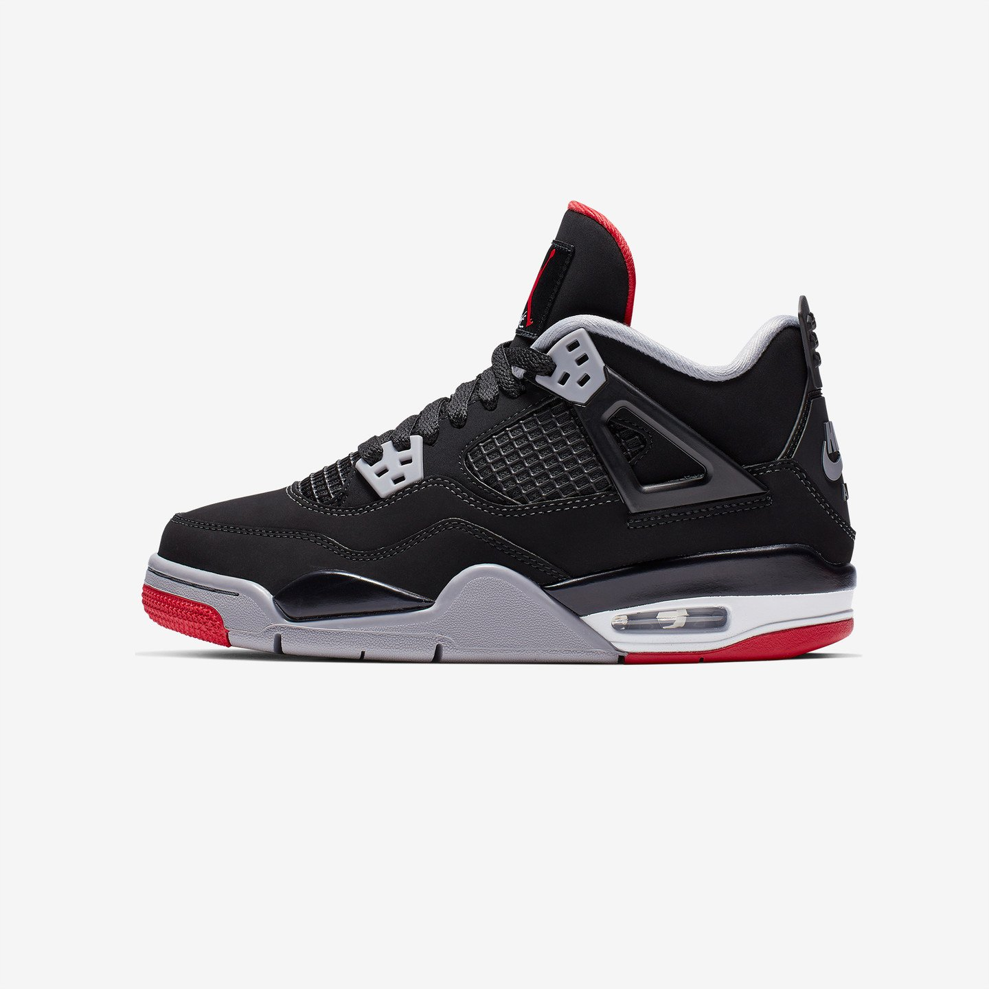 Jordan Air Jordan 4 Retro OG GS 'Bred' Black / Fire Red / Cement Grey / Summit White 408452-060