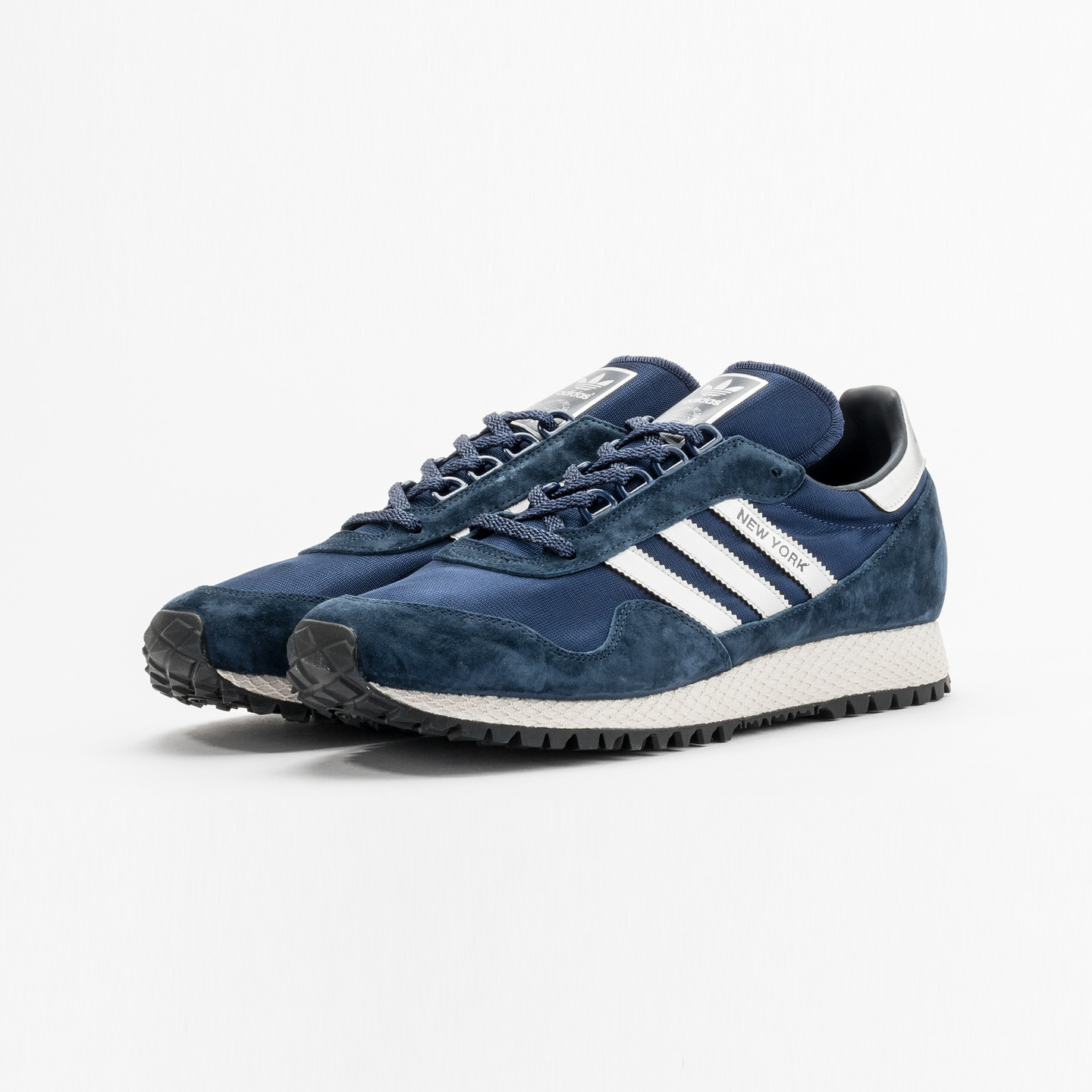 Adidas New York Collegiate Navy / Metallic Silver BB1188-44.66