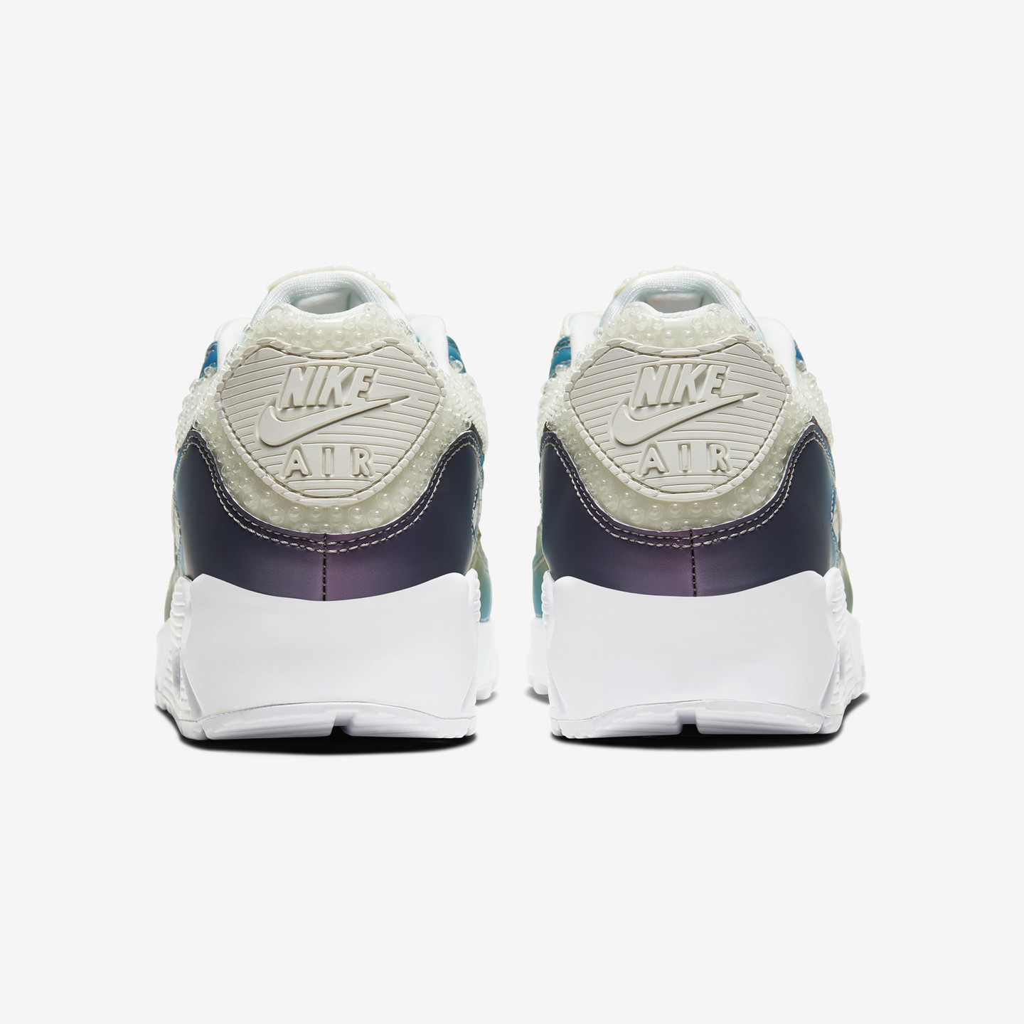 Nike Air Max 90 20 'Bubble Pack' Summit White / Multi-Color / White / Black CT5066-100