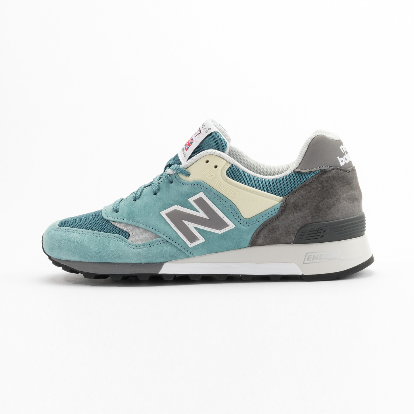 New Balance M577 ETB - Made in England Sea Glass / Grey/ Yellow M577ETB-45.5