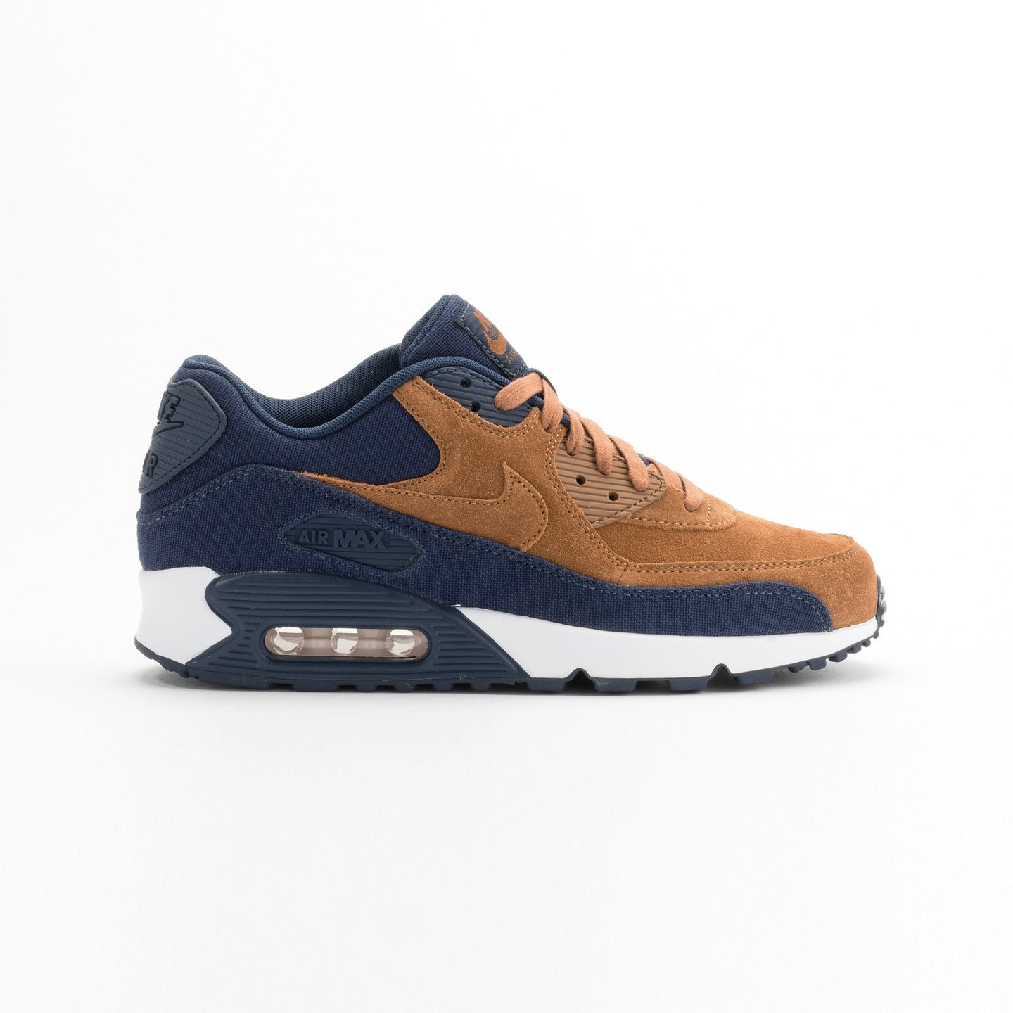 Nike Air Max 90 Premium Ale Brown / Midnight Navy 700155-201-44.5
