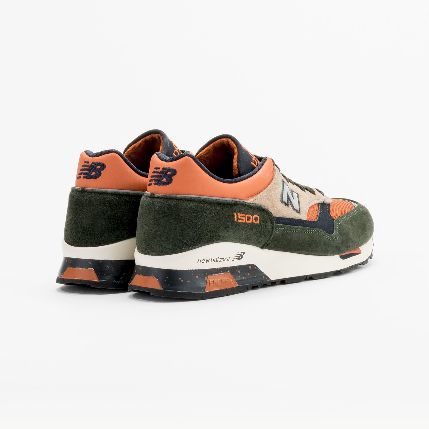 New Balance M1500 RO - Made in England Green / Orange M1500RO-45.5