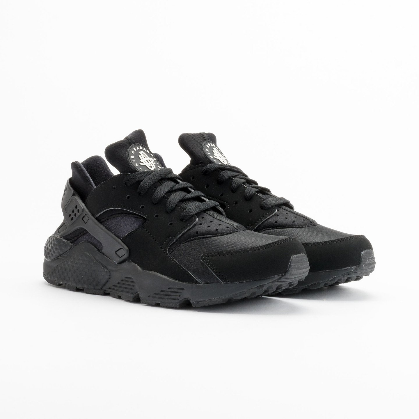 Nike Air Huarache Black/Black-White 318429-003-46