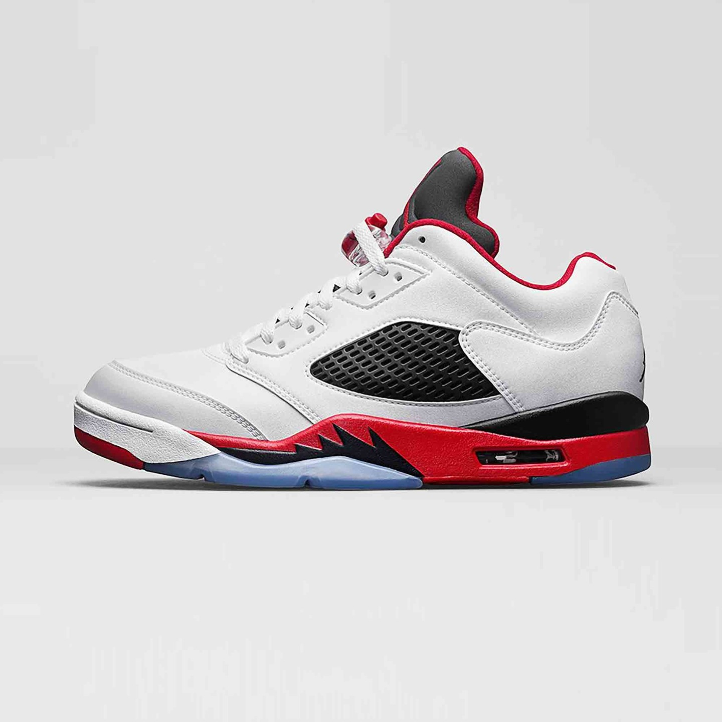 Jordan Air Jordan 5 Low Retro 'Fire Red' White / Fire Red / Black 819171-101-42