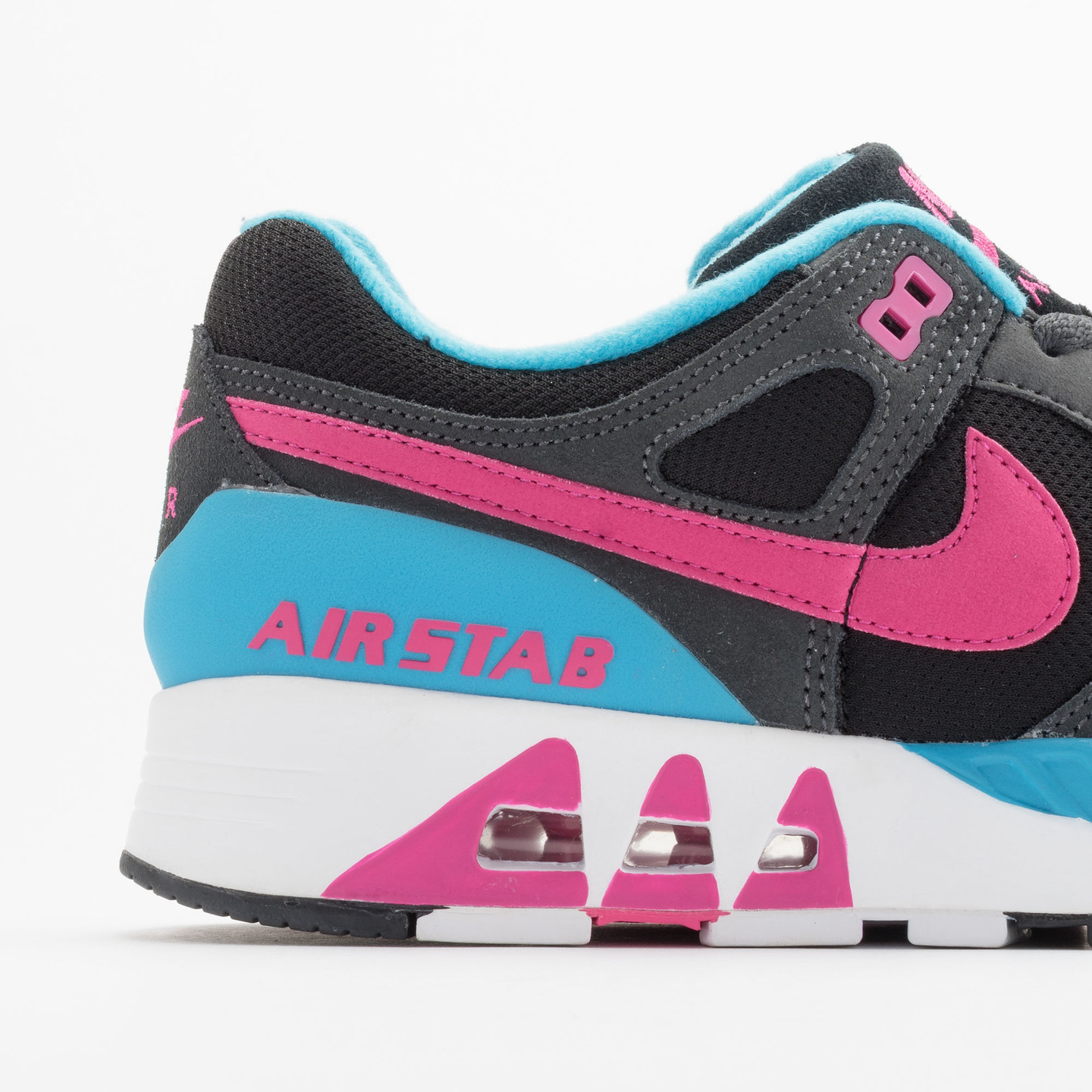 Nike Air Stab Black/Hot Pink-Anthrct-Bl Lgn 312451-004-38.5