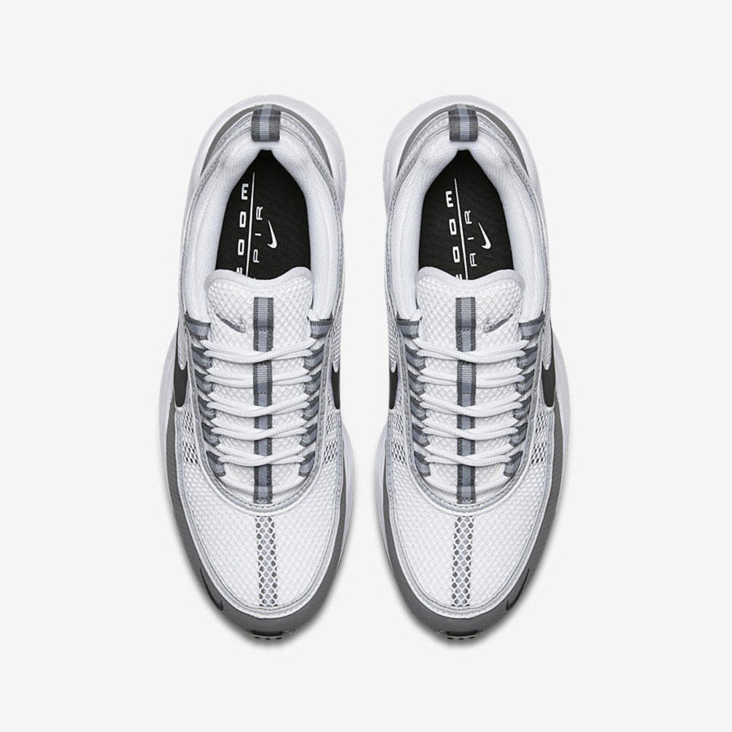 Nike Air Zoom Spiridon White / Black / Light Ash 849776-101