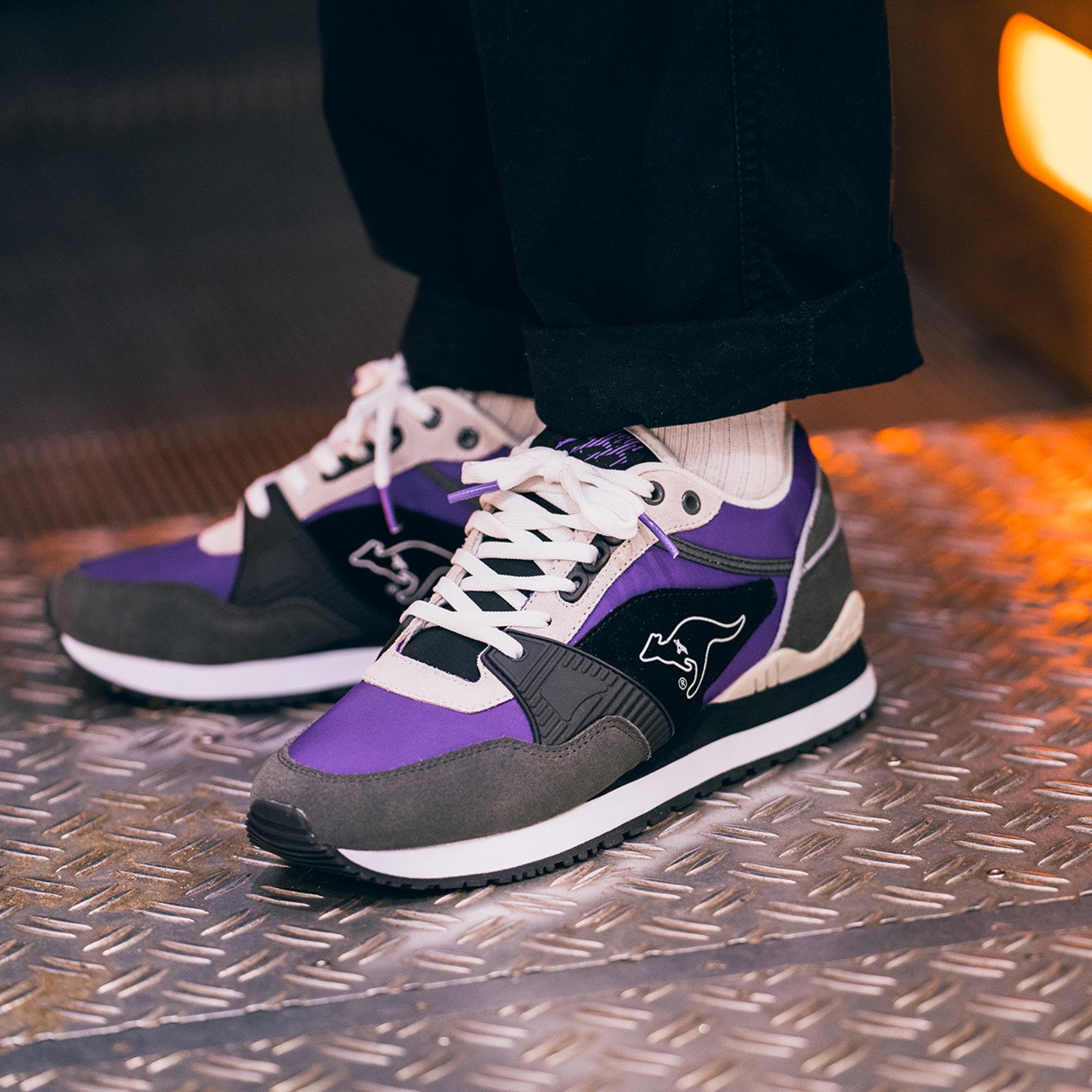 KangaROOS Shield OG MRT Purple / Grey / Off White 4725-3000-2141