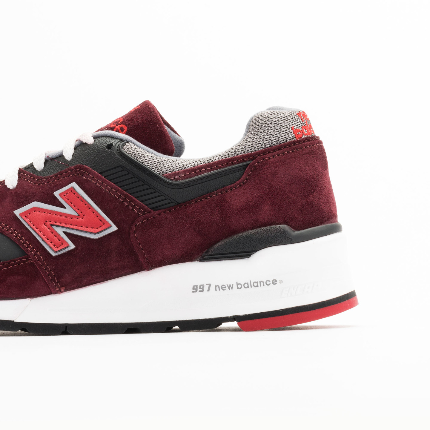New Balance M997 CRG - Made in USA Brick Red / Black / Grey M997CRG-42