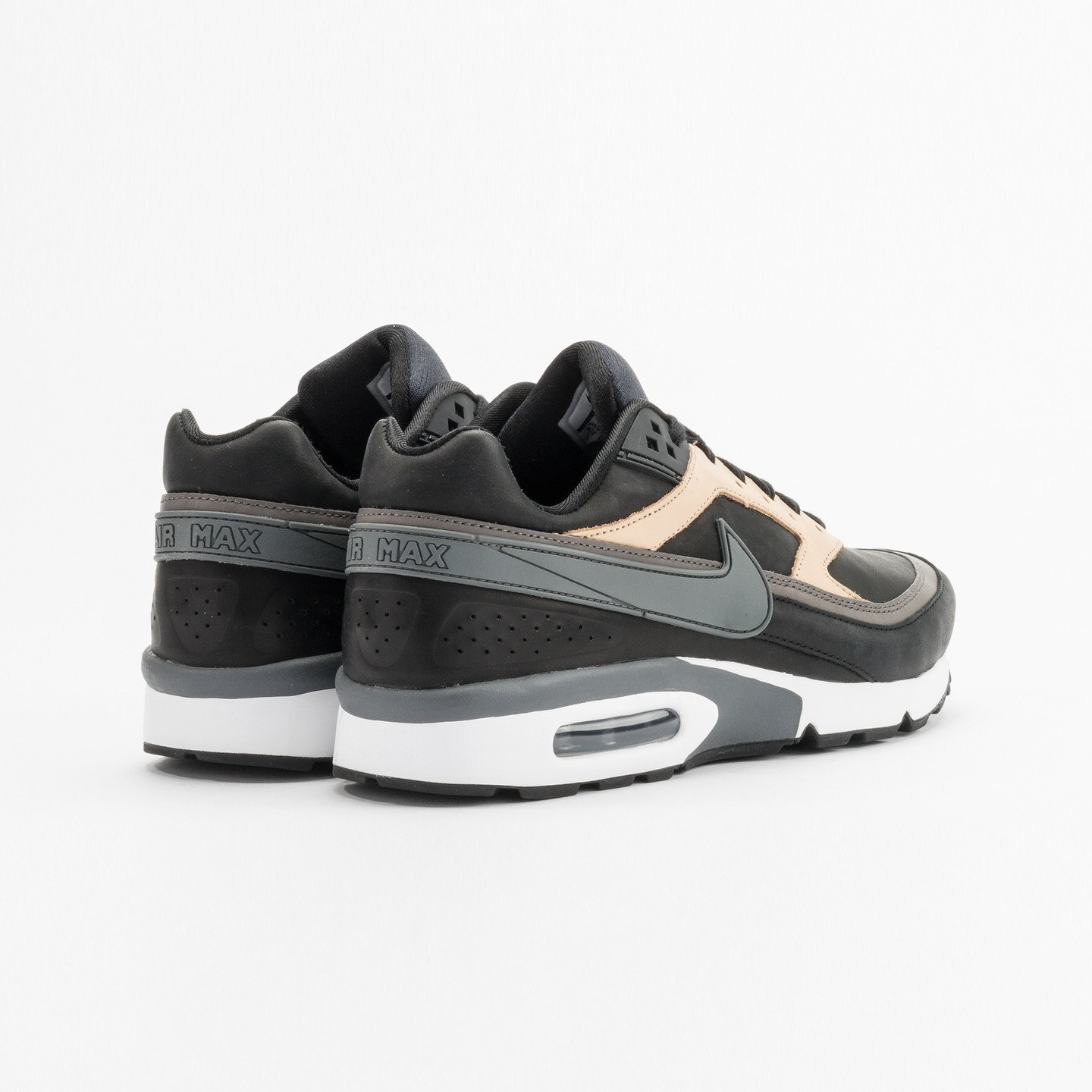 af8b45e94c Nike Air Max BW Premium Leather Black / Dark Grey / Vachetta 819523-001-