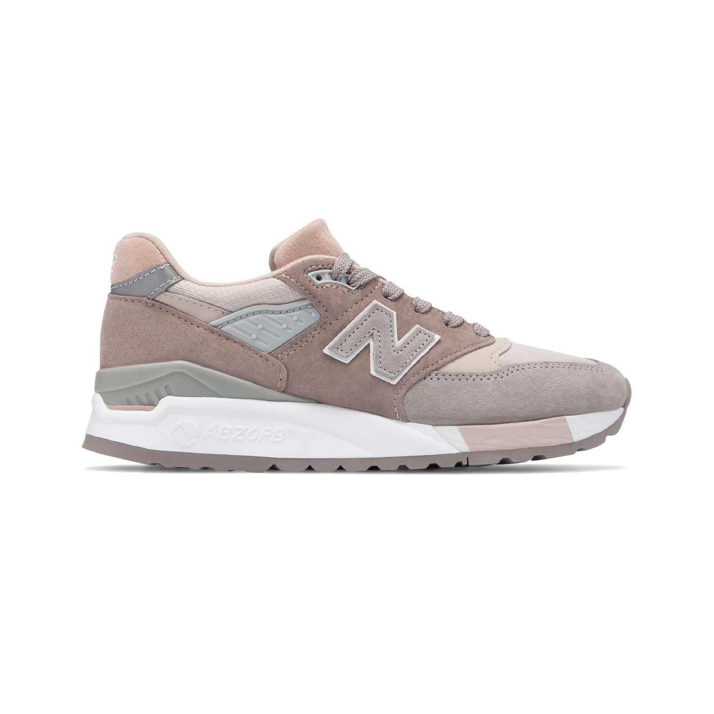 New Balance W998 - Made in USA Beige / Grey / White W998AWA