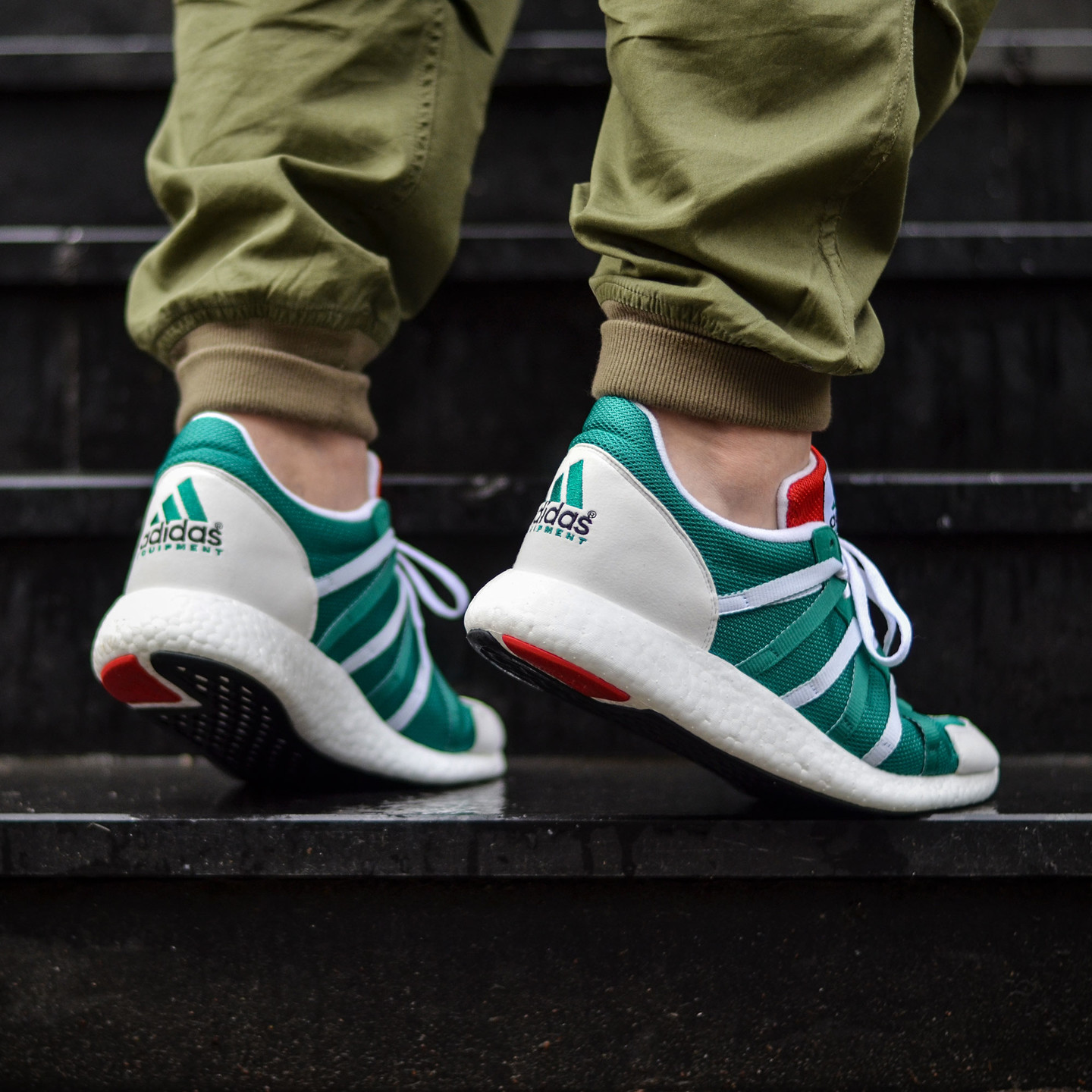Adidas Equipment Racing 93/16 Sub Green / Ftw White / Col Red S79122-42