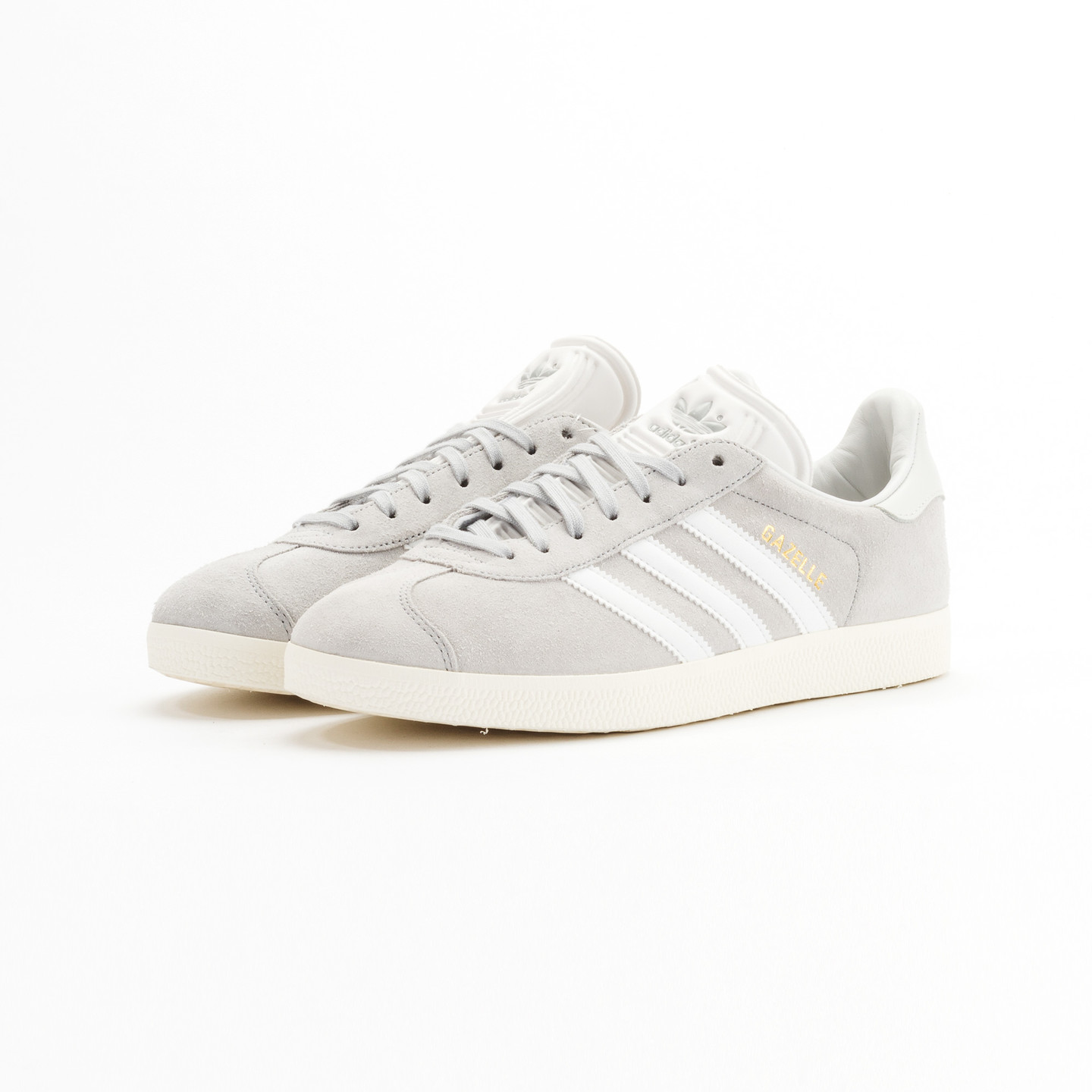 Adidas Gazelle  Clear Onyx / White / Gold Metallic S76221-42.66