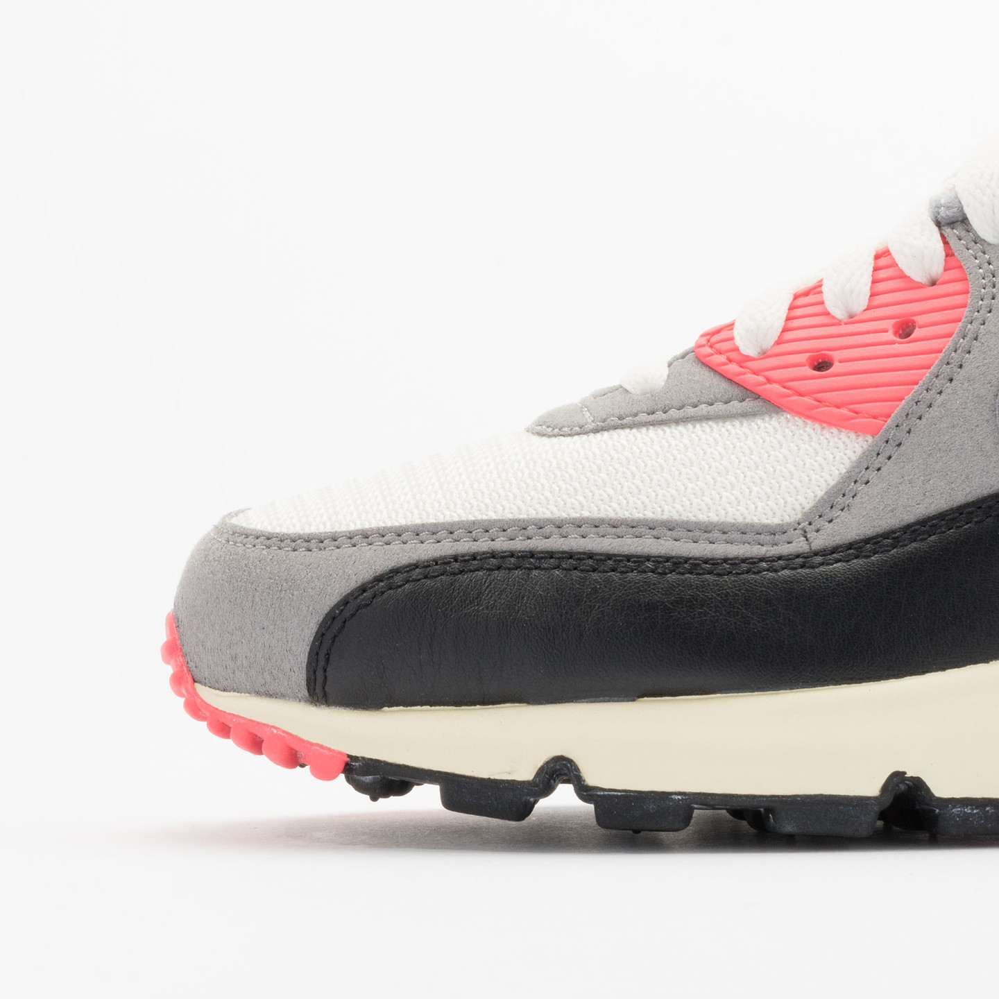 Nike Air Max 90 OG Vintage Infrared Sail/Cool Grey-Mdm Grey-Infrrd 543361-161-44