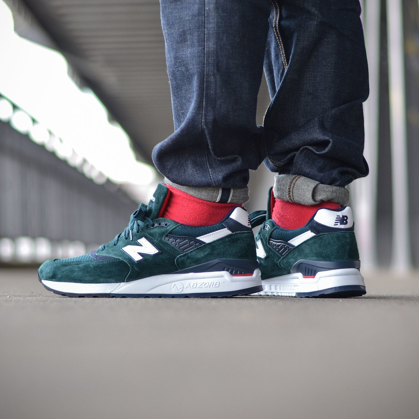 New Balance M998 Made in USA Dark Green M998CHI-42