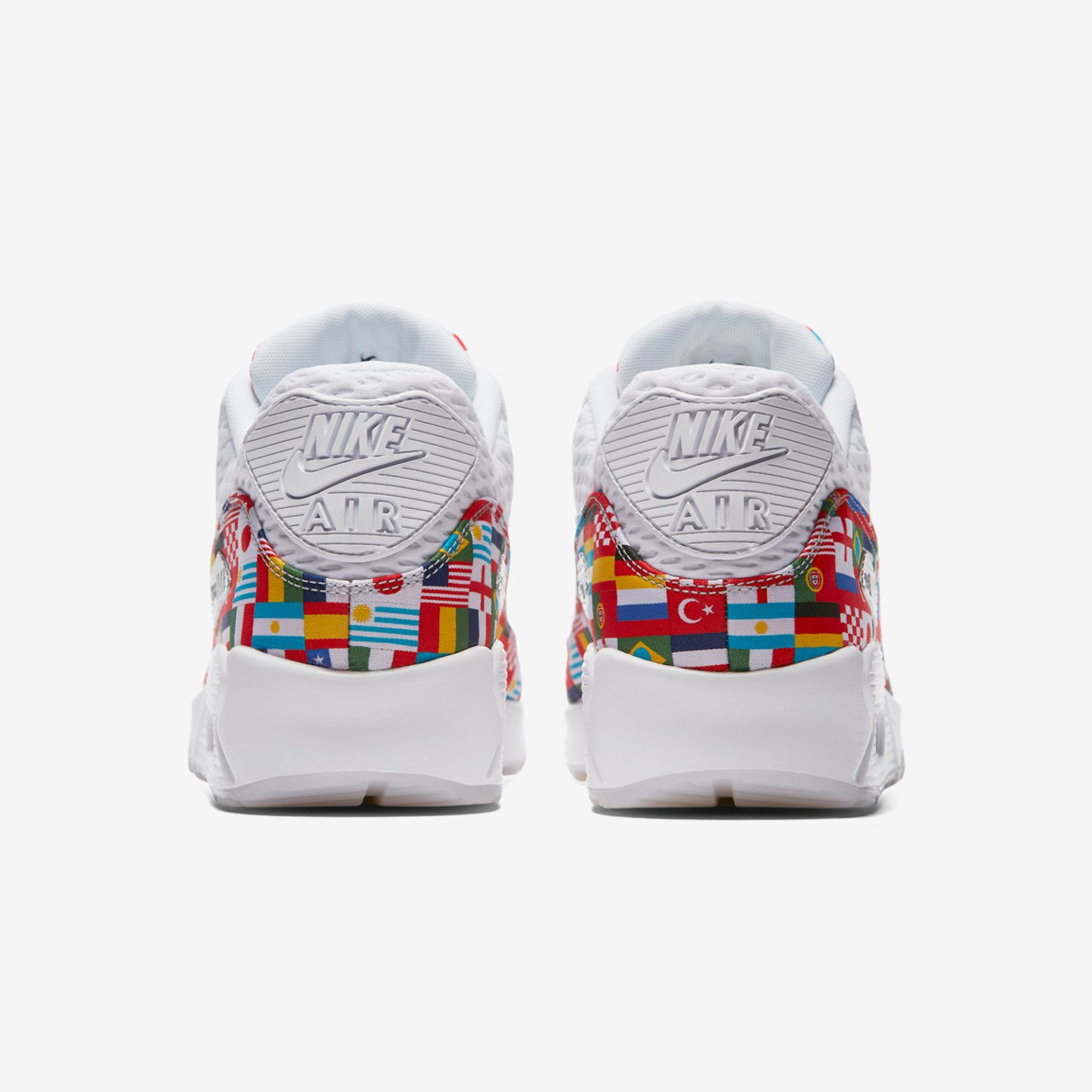 Nike Air Max 90 NIC 'One World' QS White / Multicolor AO5119-100