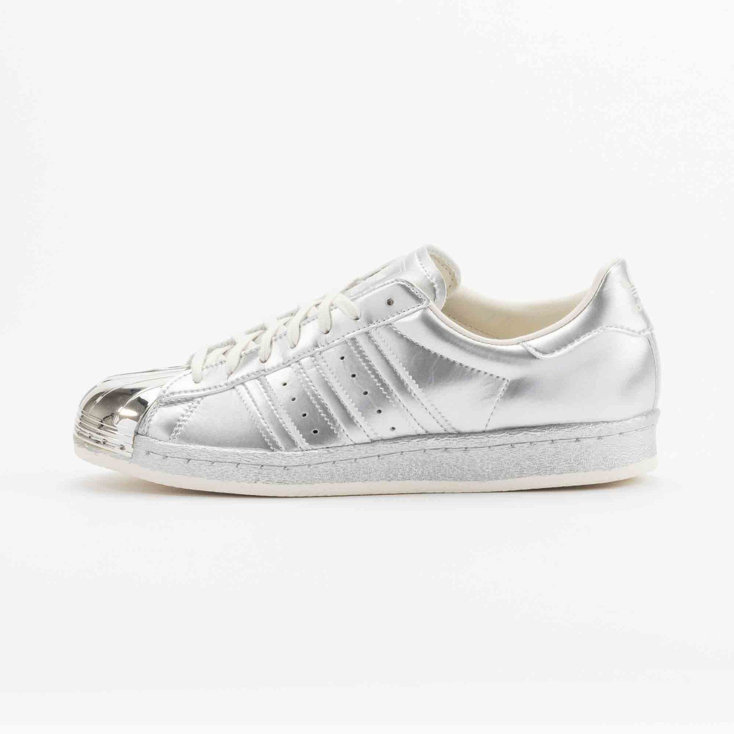 Adidas Superstar 80s Metallic Pack Silver Metallic S82741-36.66