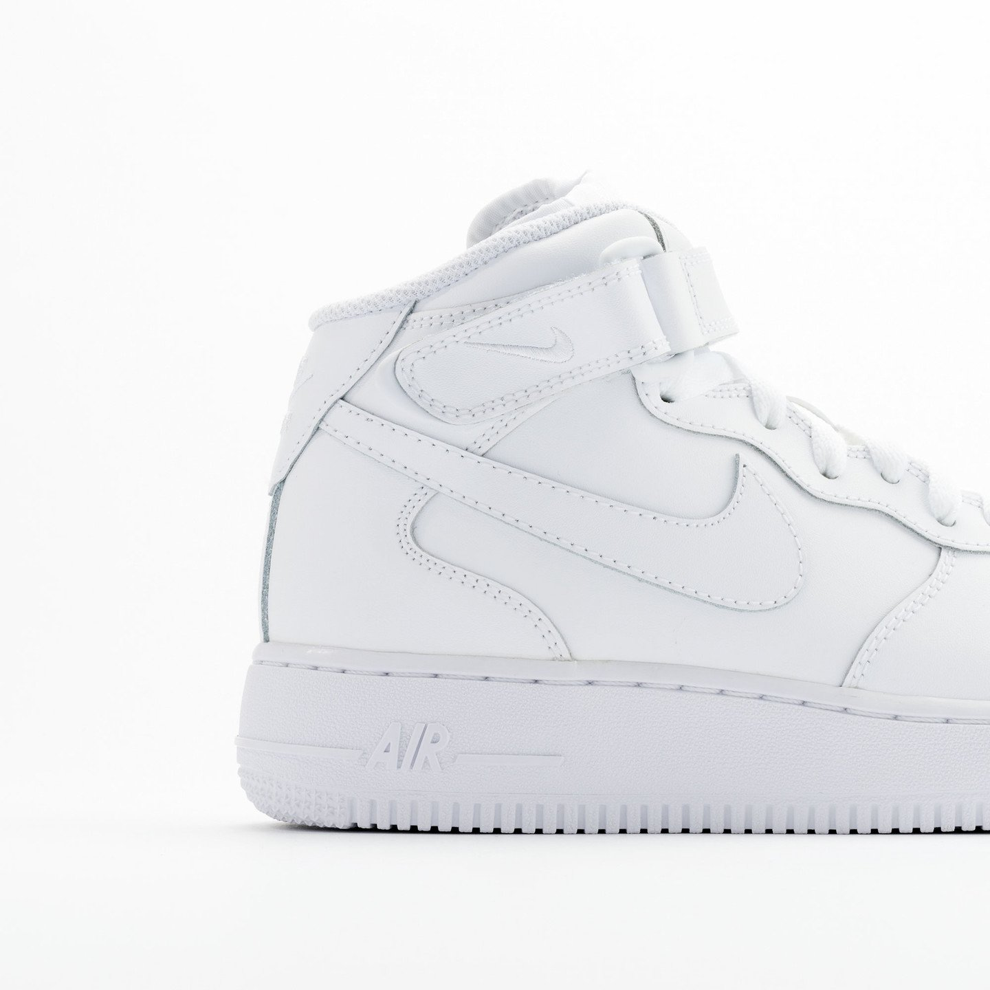 Nike Air Force 1 Mid GS White / White 314195-113-38.5