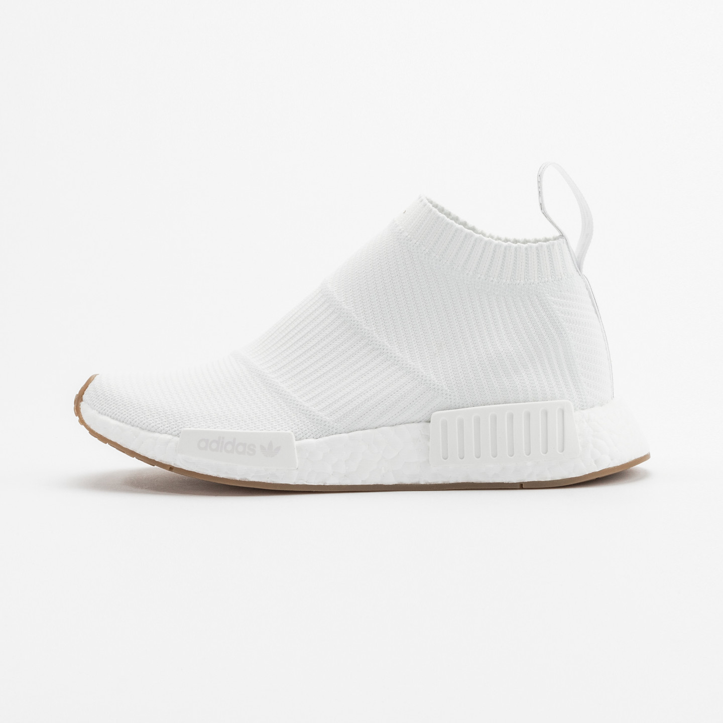 Adidas NMD CS1 City Sock Boost Primeknit Running White / Gum BA7208-43.33