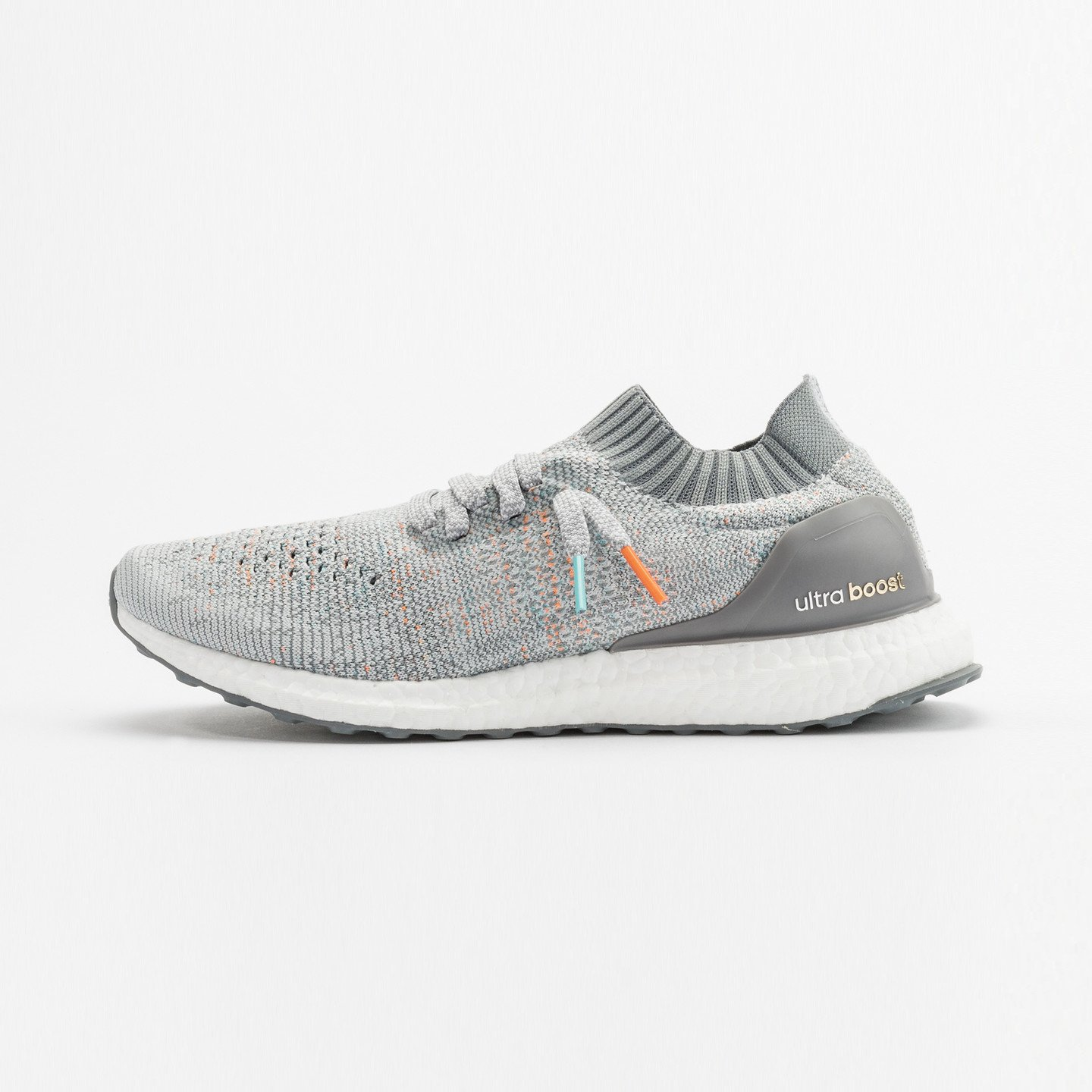 Adidas Ultra Boost Uncaged 'Miami Dolphins' Clear Grey / Mid Grey / Orange / Aqua BB4489-47.33