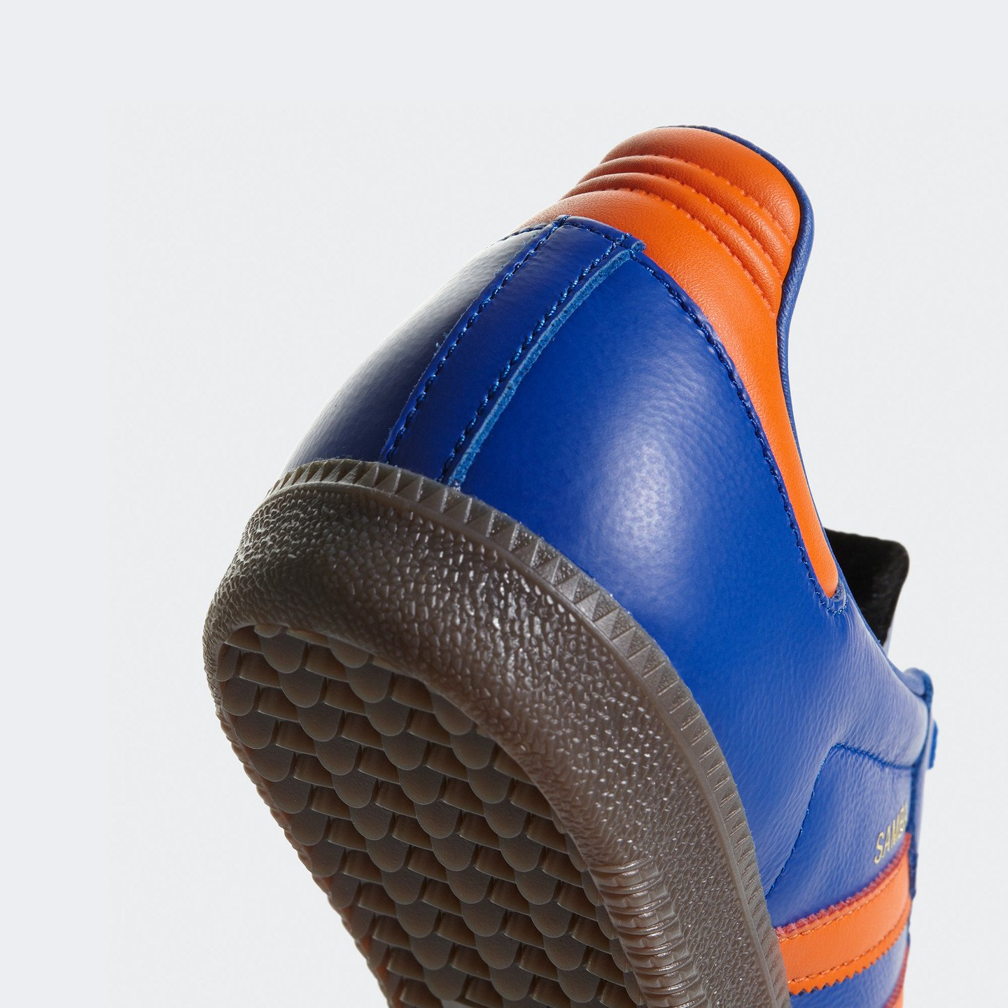 Adidas Samba OG Bold Blue / Orange / Gum CQ2150
