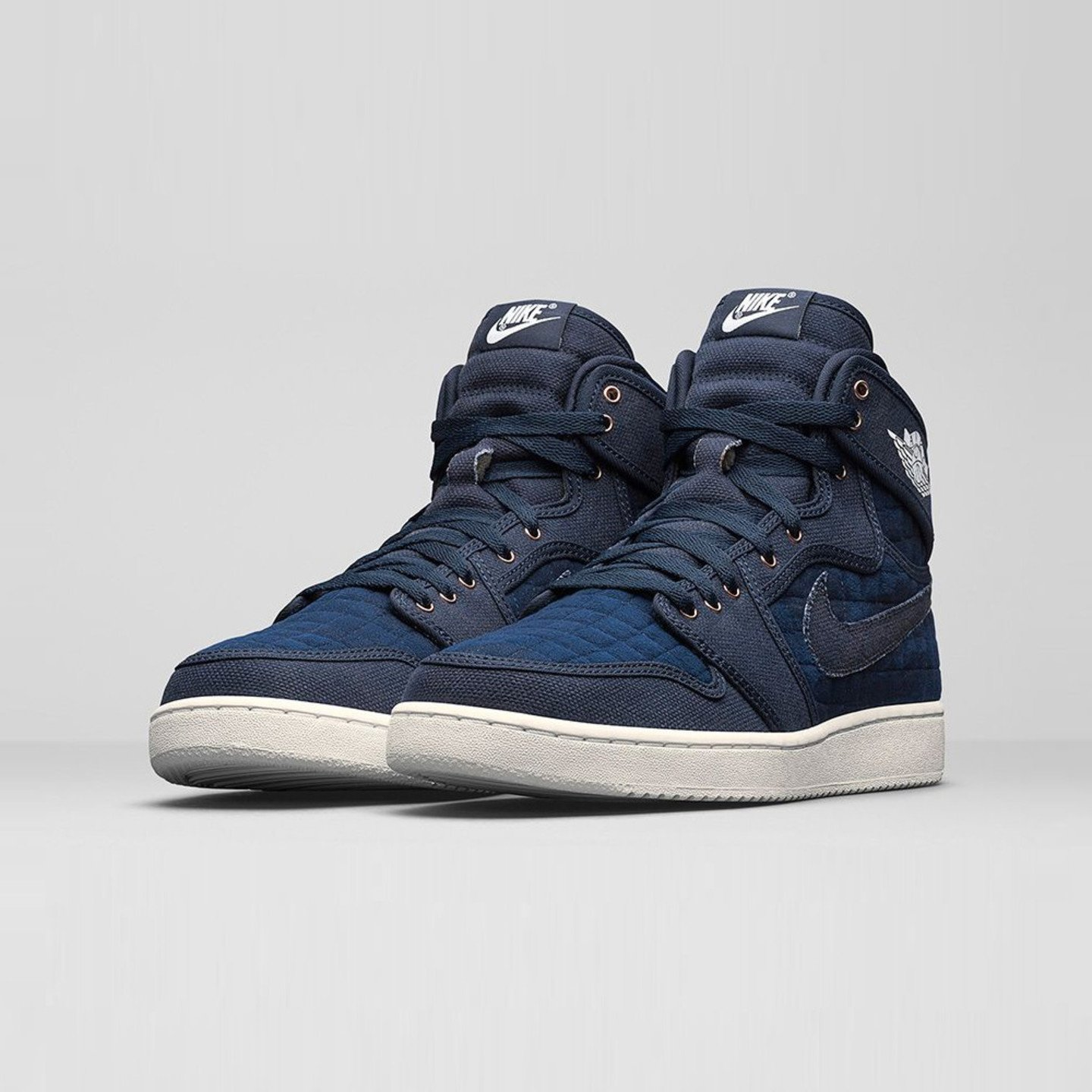 Jordan Air Jordan 1 KO High OG Obsidian / White / Metallic Red 638471-403-45