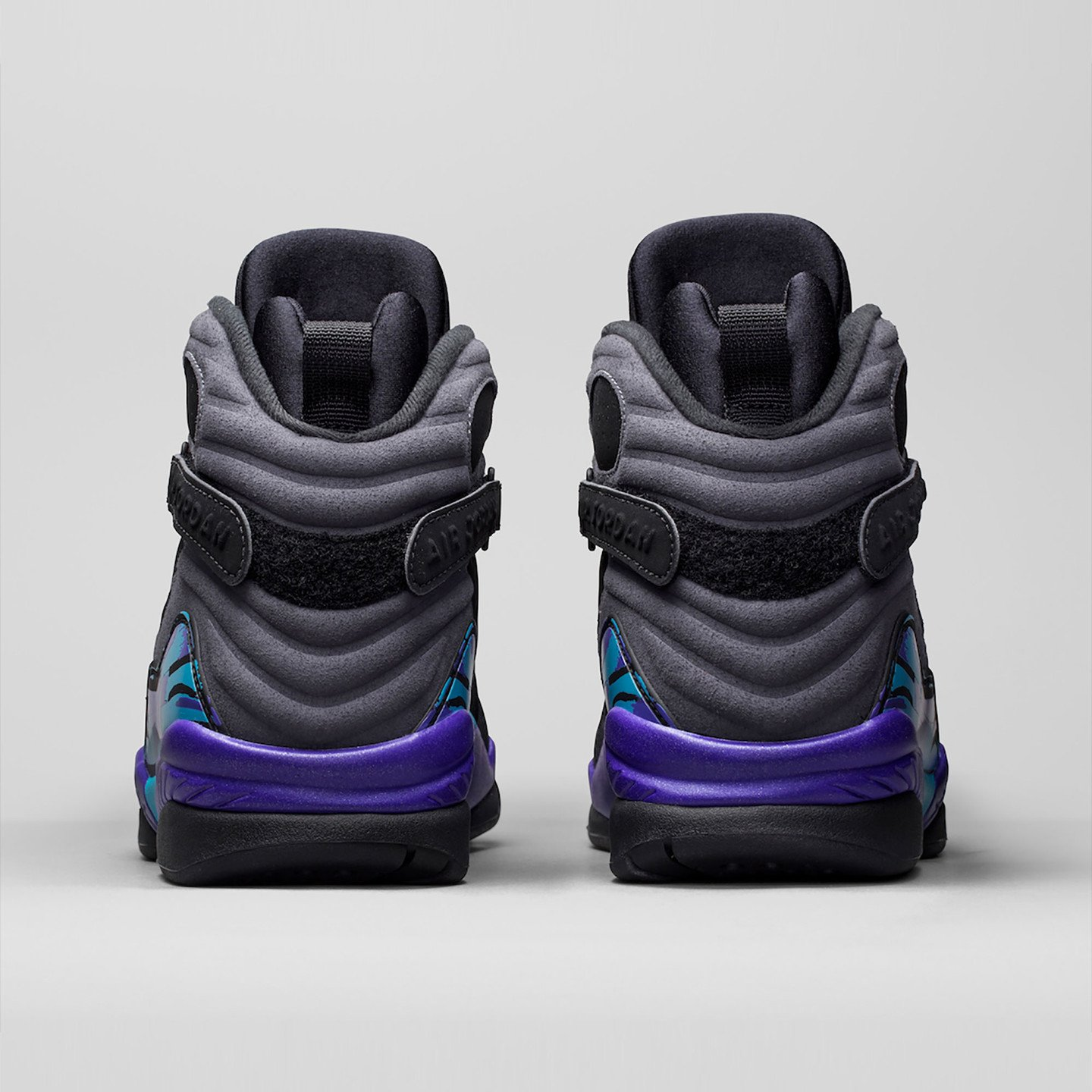 Jordan Air Jordan Retro 8 'Aqua' Black/True Red-Flint Grey-Bright Concord 305381-025-45.5