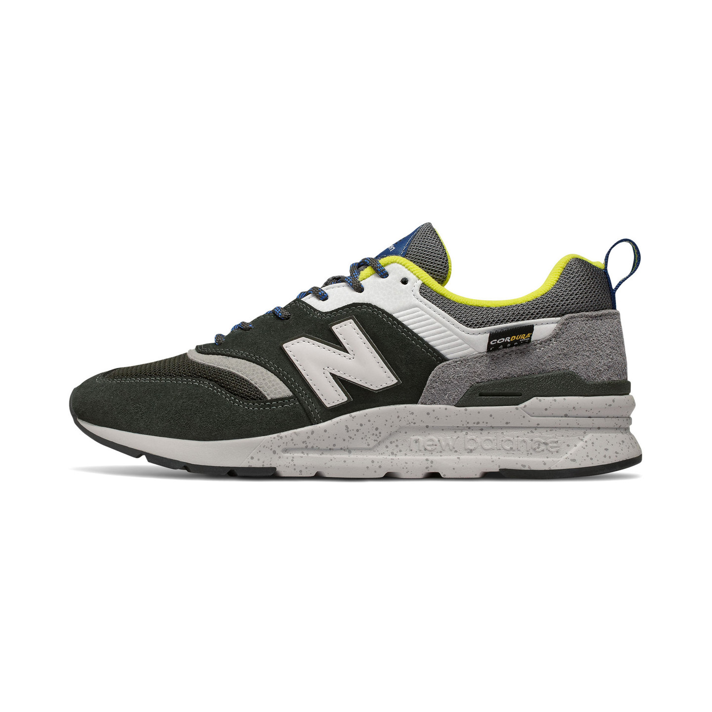 New Balance CM997 Dark Green / Citrus / Royal Blue CM997HFD