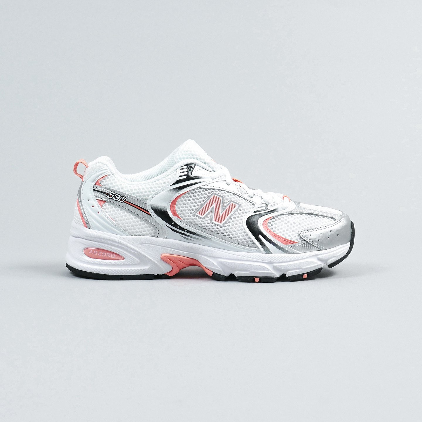 New Balance MR530 White / Coral / Silver MR530MAC