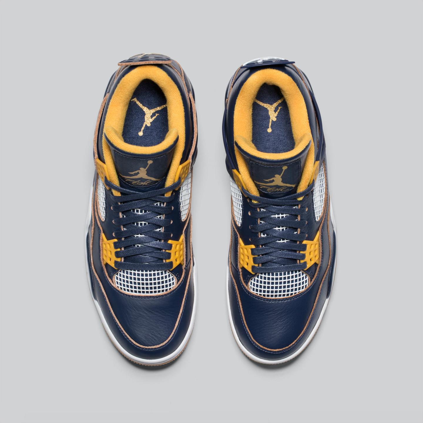 Jordan Air Jordan 4 Retro 'Dunk From Above' Midnight Navy / Golden Yellow / White 308497-425-44.5