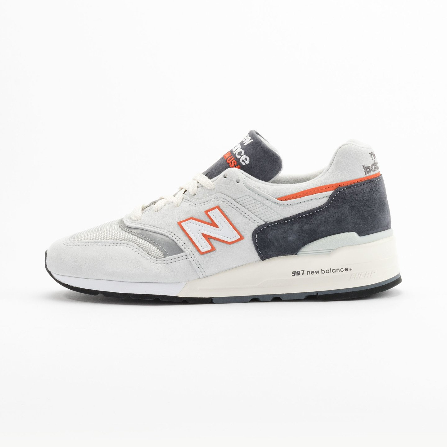 New Balance M997 Made in USA Grey / Orange M997CSEA-43