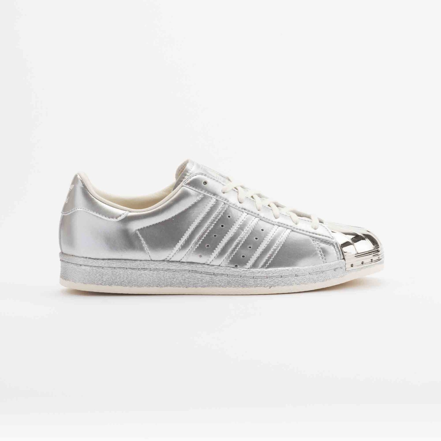 Adidas Superstar 80s Metallic Pack Silver Metallic S82741-40.66