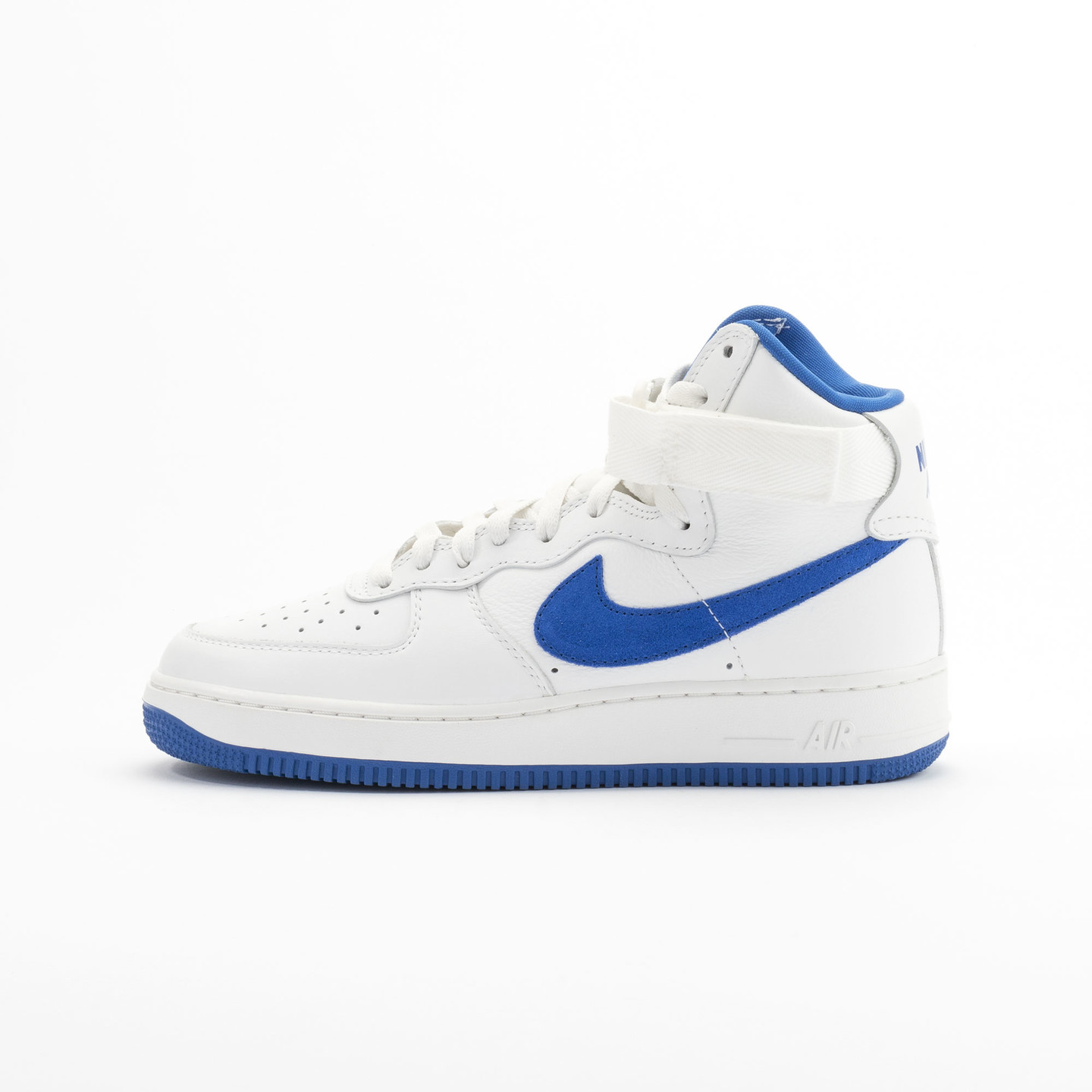 Nike Air Force 1 Hi Retro OG QS Summit White - Game Royal 743546-103-44.5