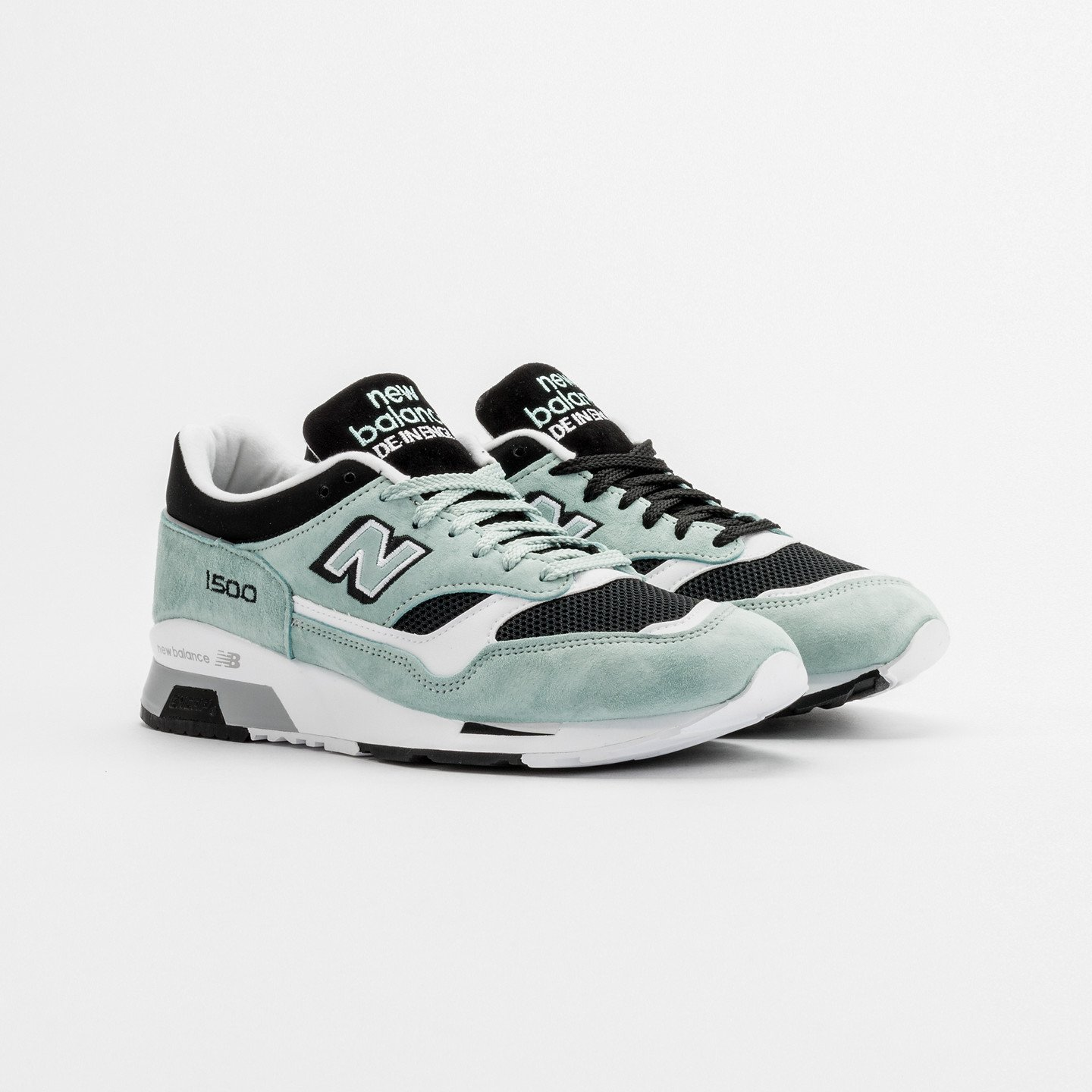 New Balance M1500 MGK - Made in England Mint / Black / White M1500MGK-44