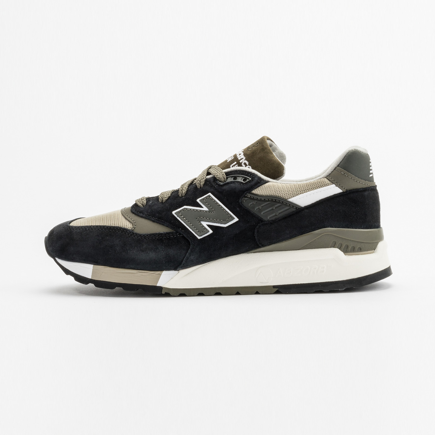 New Balance M998 Made in USA Olive / Black M998CTR-46.5