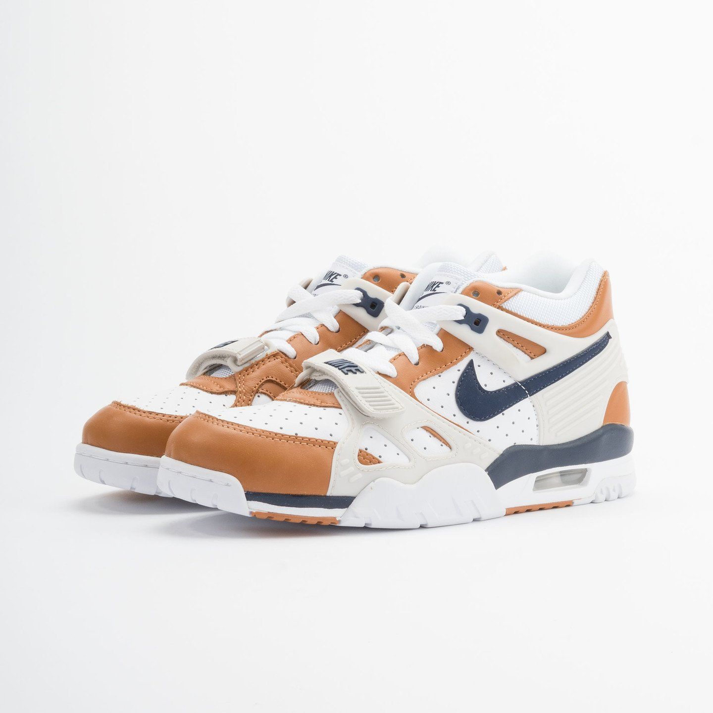 Nike Air Trainer 3 Premium Medicine Ball White/Mid Navy-Gngr-Lght Bn 705425-100-46