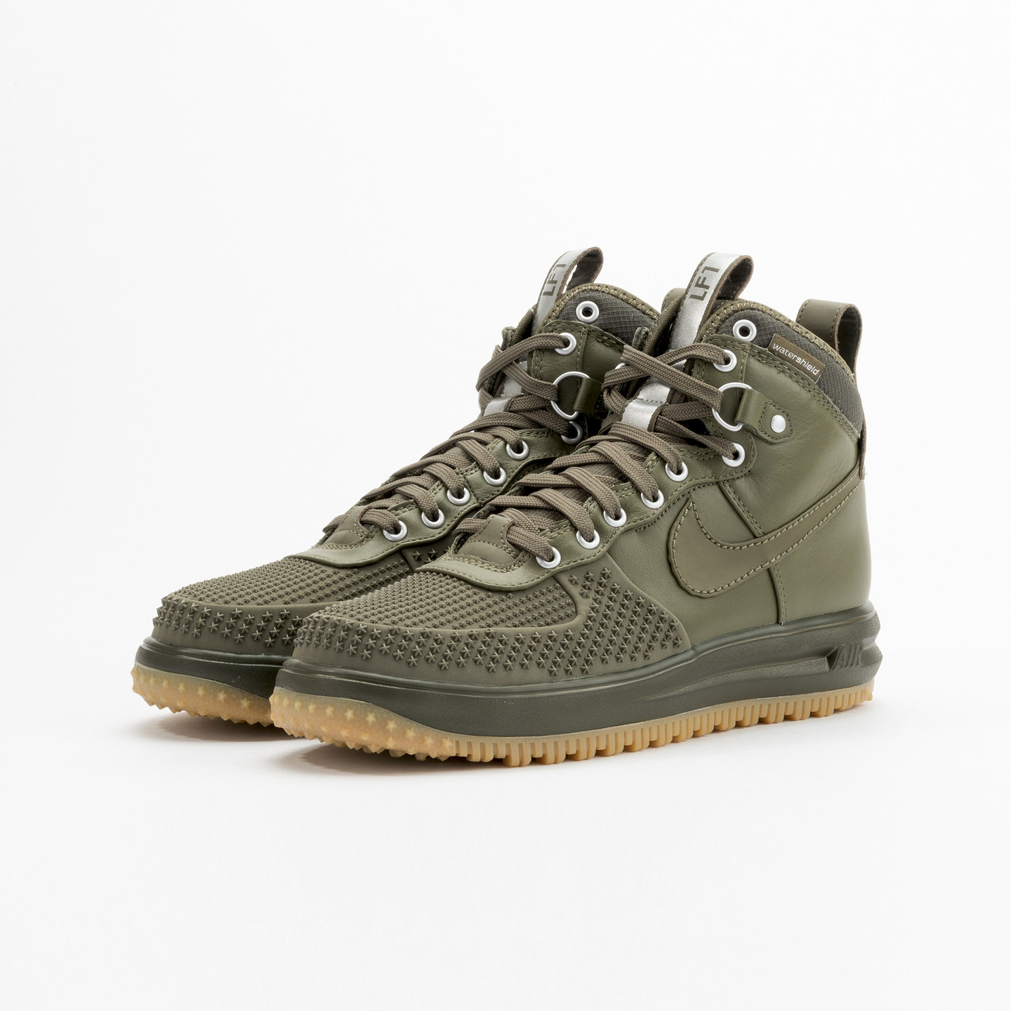 Nike Lunar Force 1 Duckboot Medium Olive / White 805899-201-43
