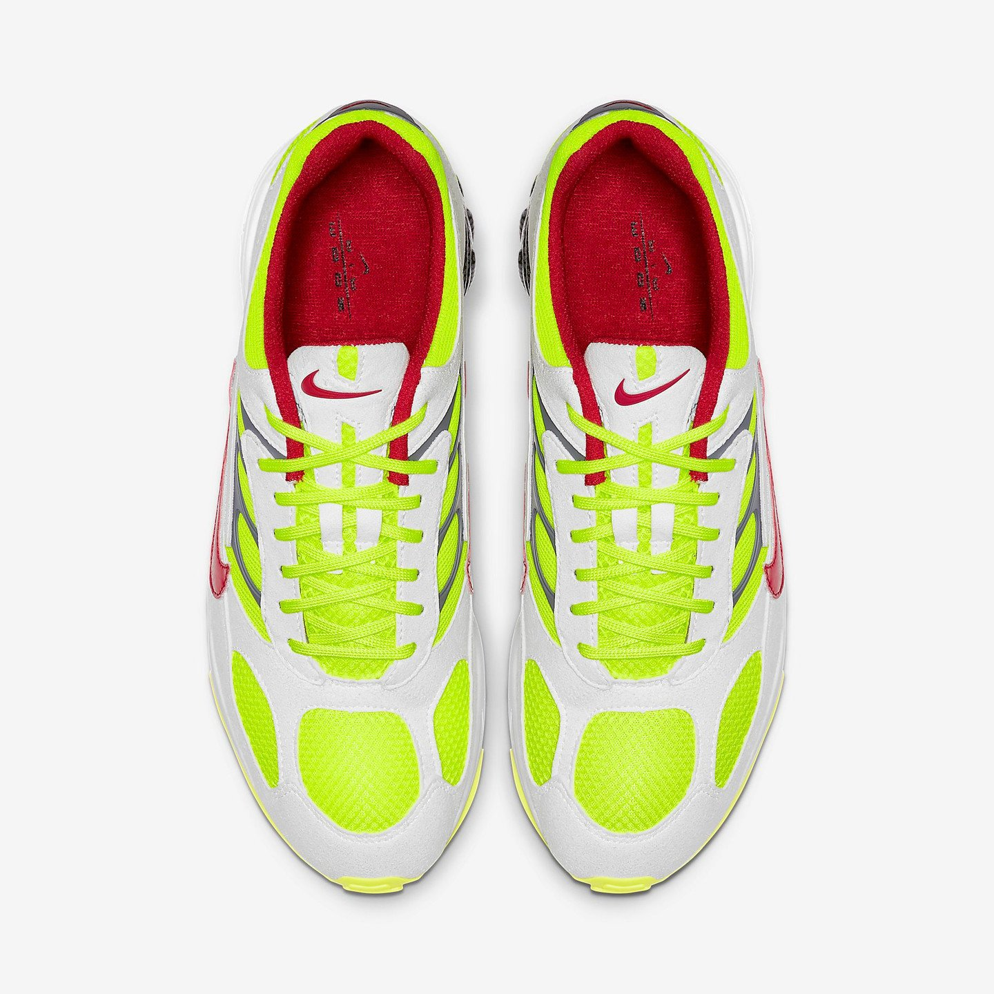 Nike Ghost Racer White /Atom Red / Neon Yellow / Dark Grey AT5410-100