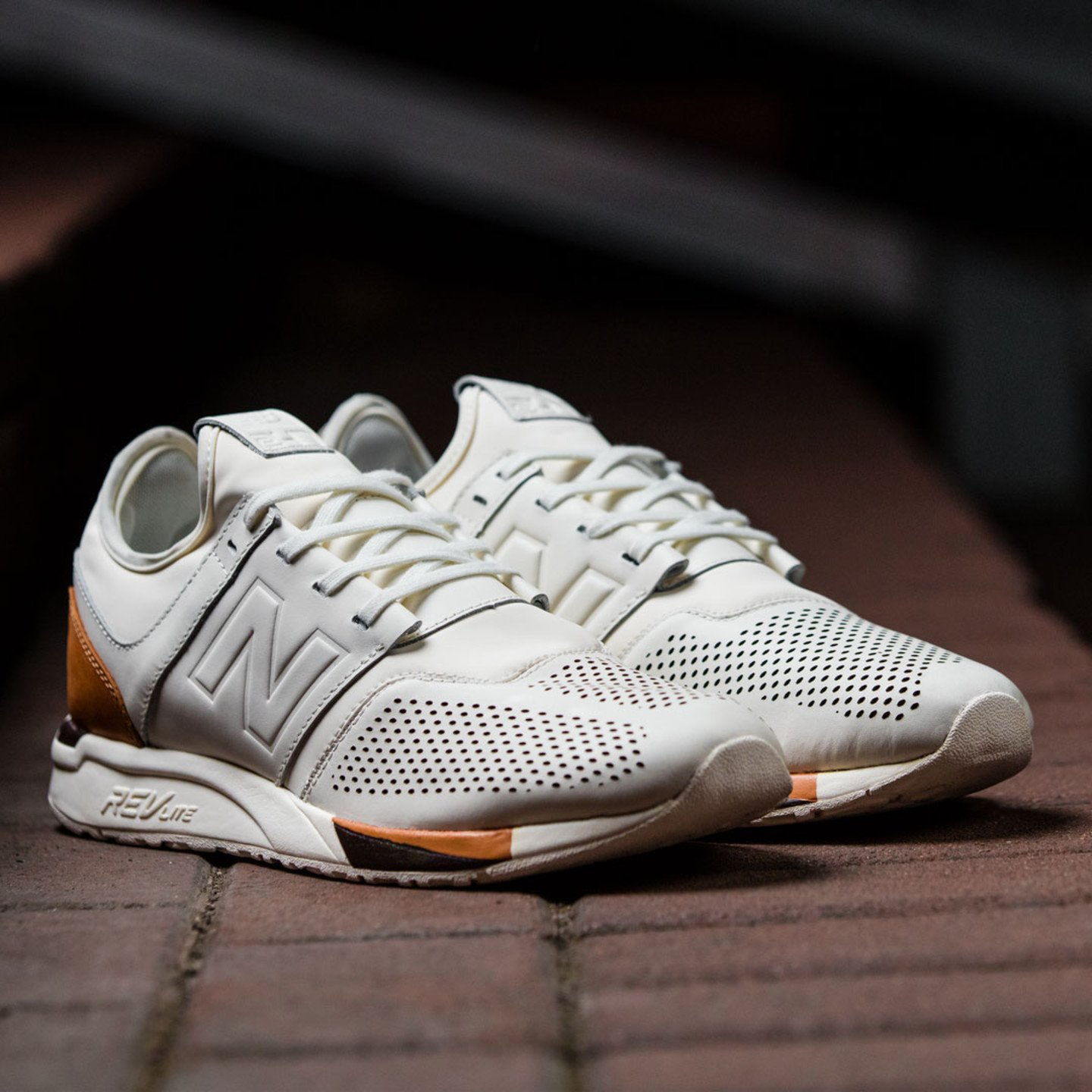 New Balance MRL 247 'Luxe Pack' Off White / Brown MRL247BE-42.5
