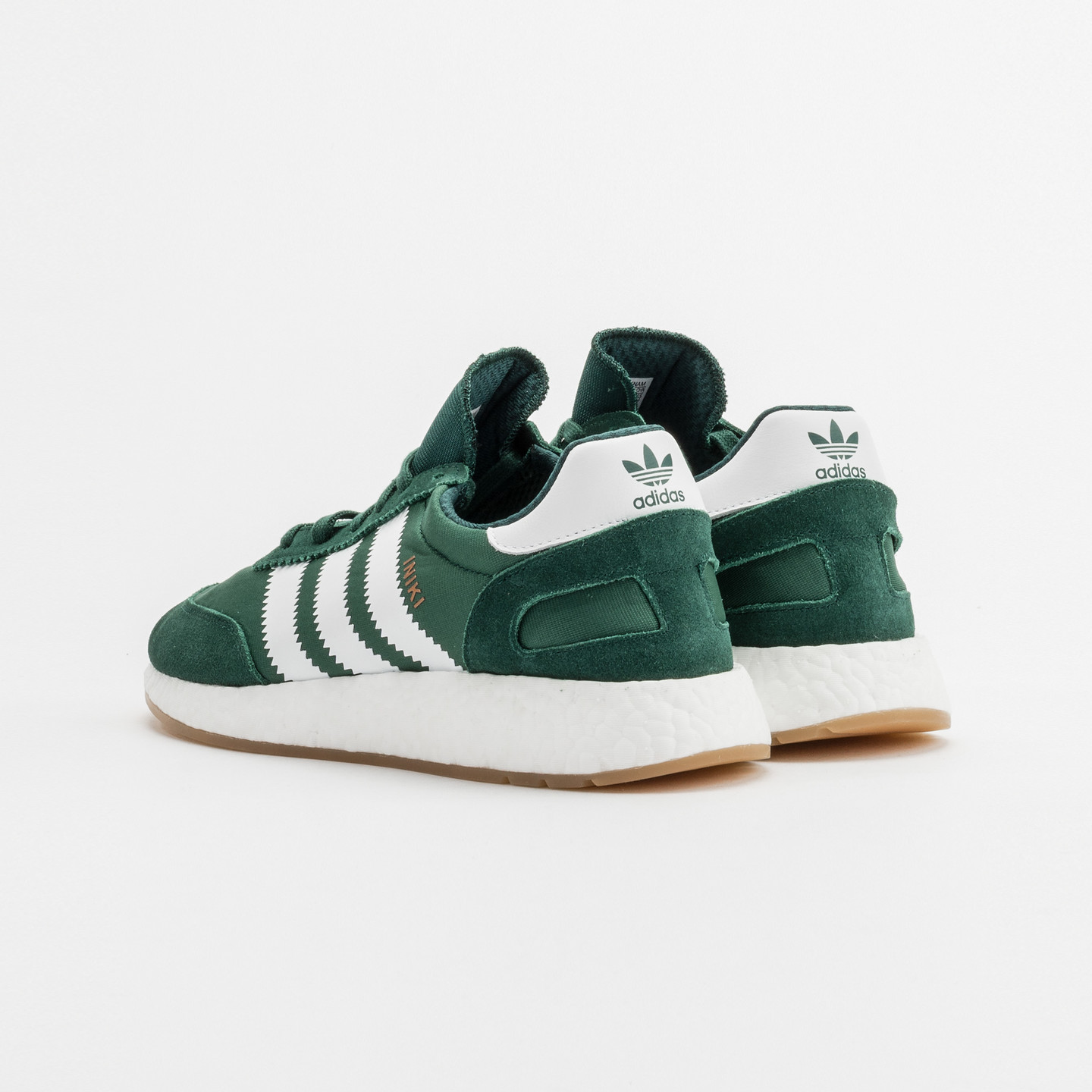 Adidas Iniki Runner Collegiate Green / White BY9726-43.33