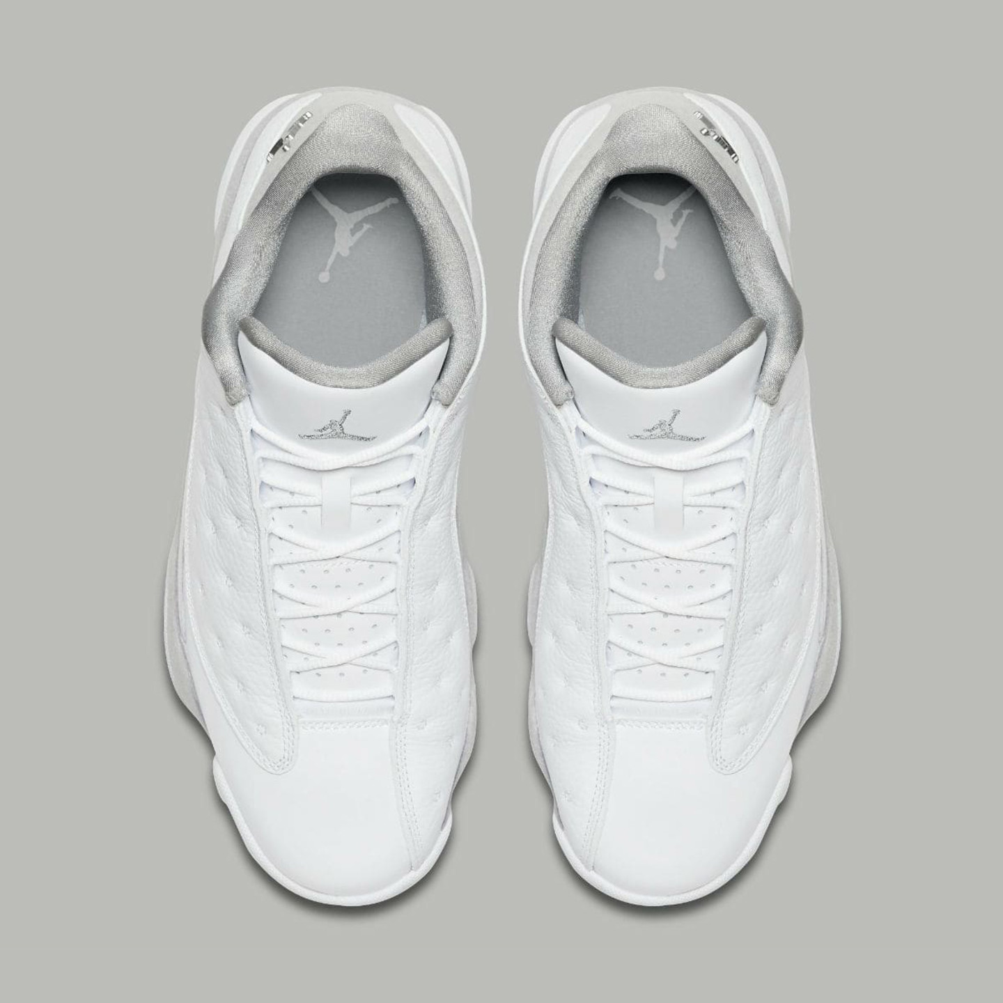 Jordan Air Jordan 13 Retro Low 'Pure Money' White / Metallic Silver 310810-100-46