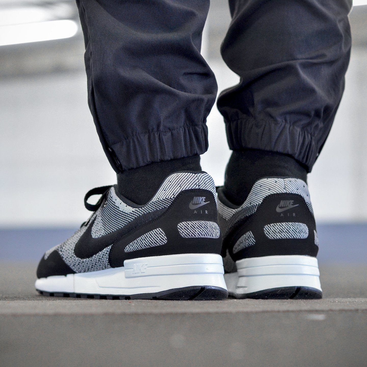 Nike Air Pegasus ´89 Jacquard Black / White 844751-001-45.5