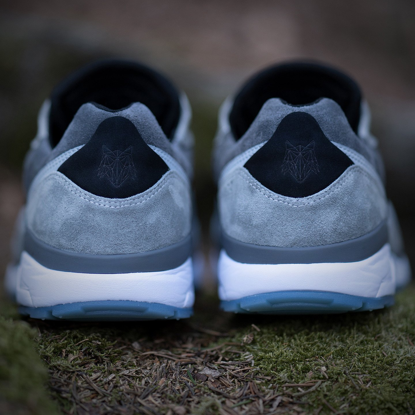 KangaROOS Runaway x 43einhalb 'Lupus' - Made in Germany Steel Grey /Vapor Grey 4720L-2009