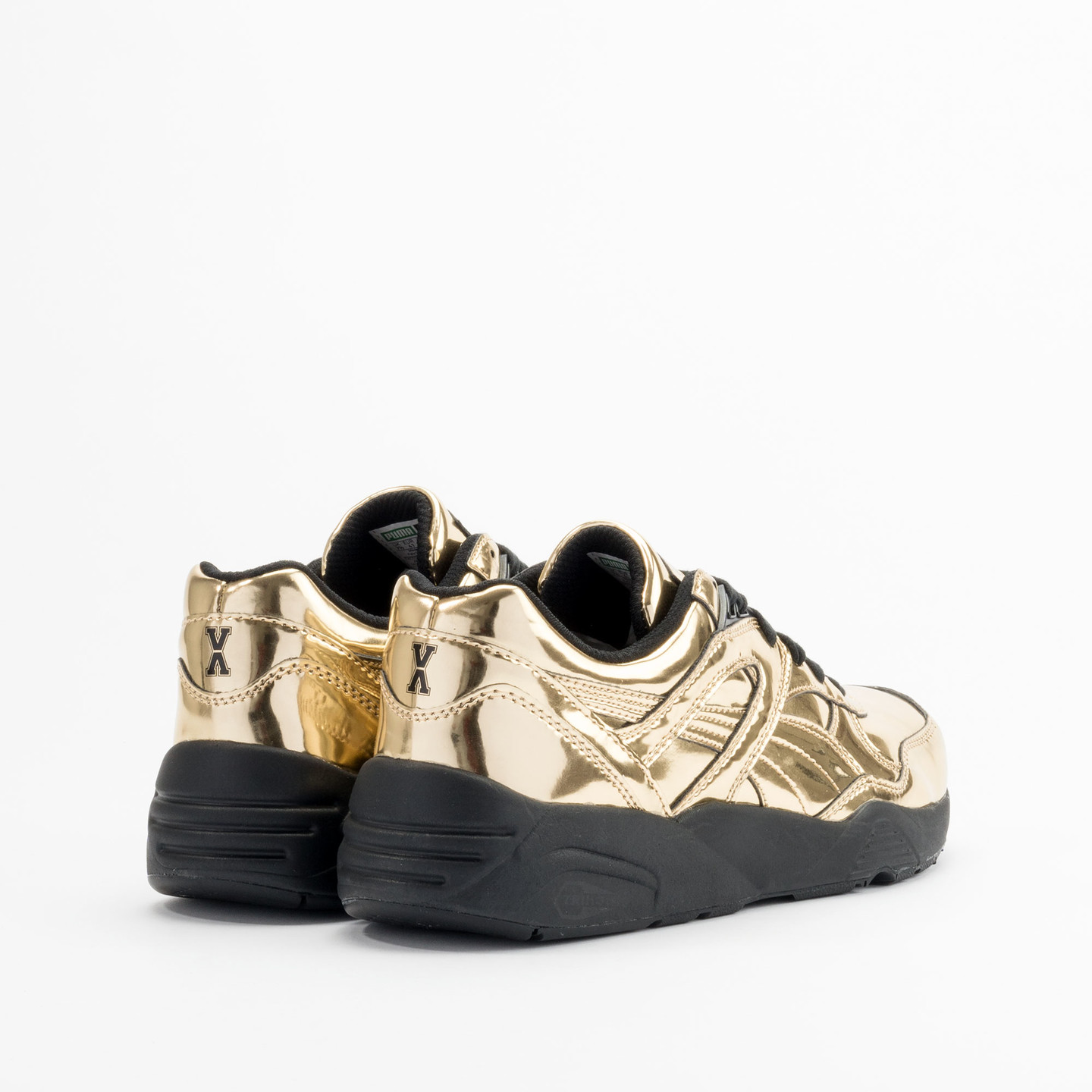 Puma R698 x Vashtie Gold Metallic Gold / Black 358838 01-42