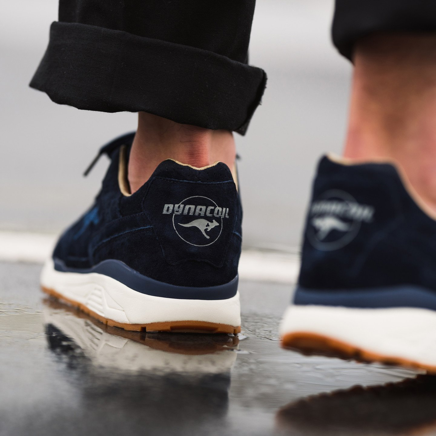 KangaROOS Ultimate Leather Dark Navy / Gum 47211 000 4071