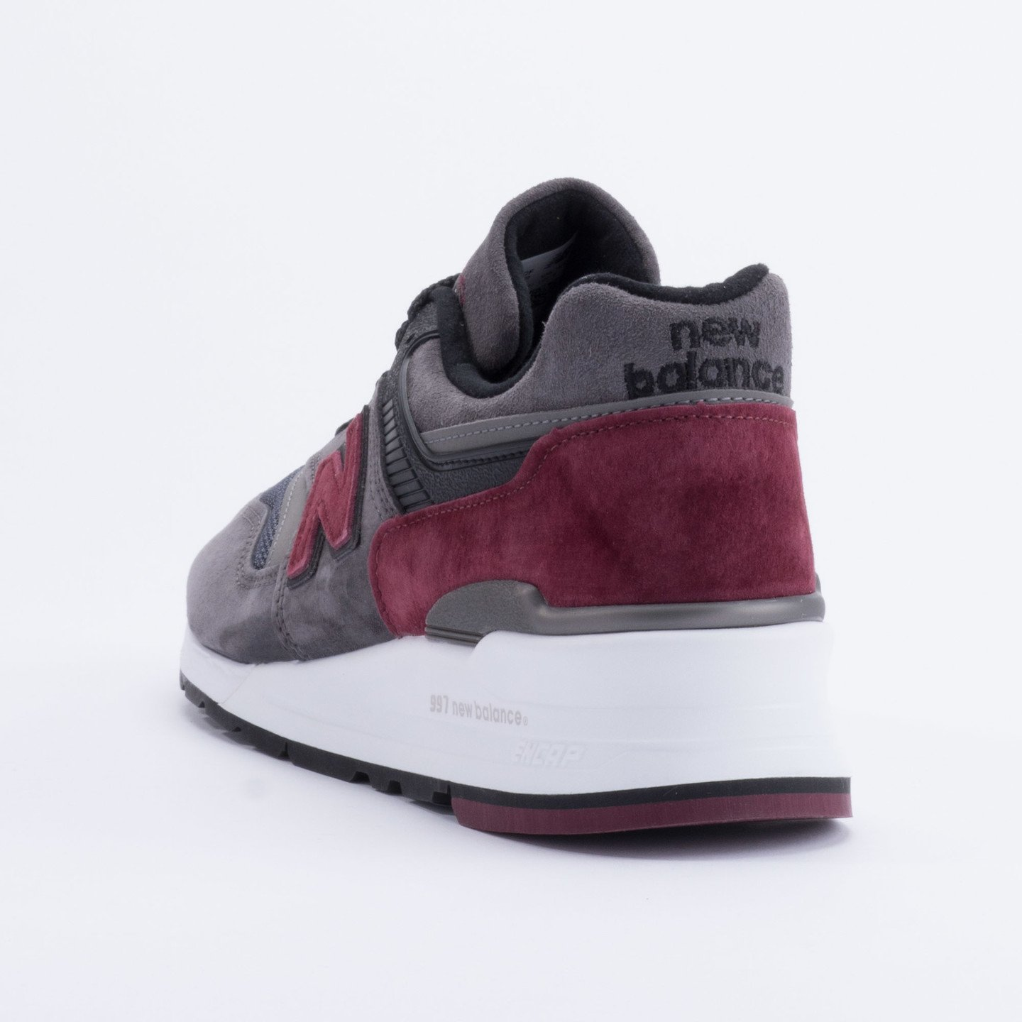 New Balance M997 Made in USA Charcoal/Burgundy M997CCF-40.5