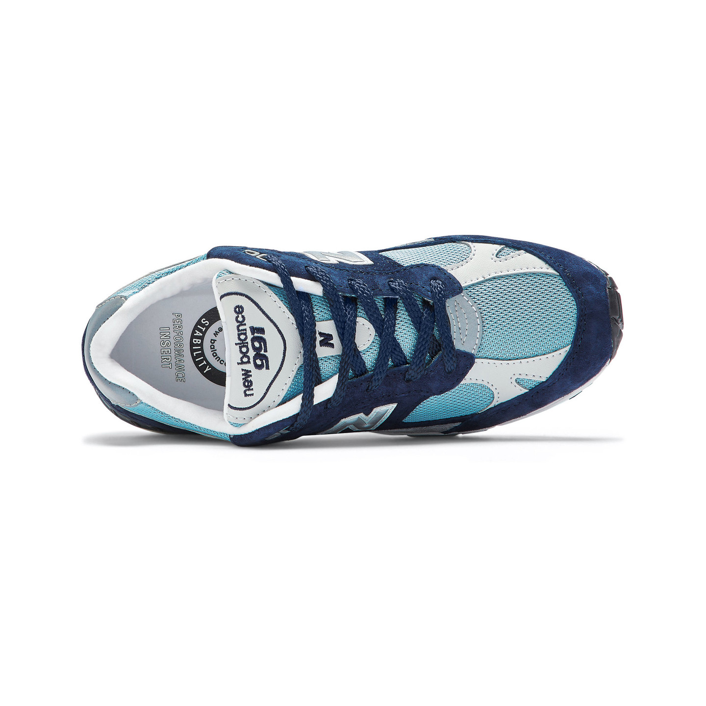 New Balance W991 NBP - Made in UK Navy / Pale Blue W991NBP