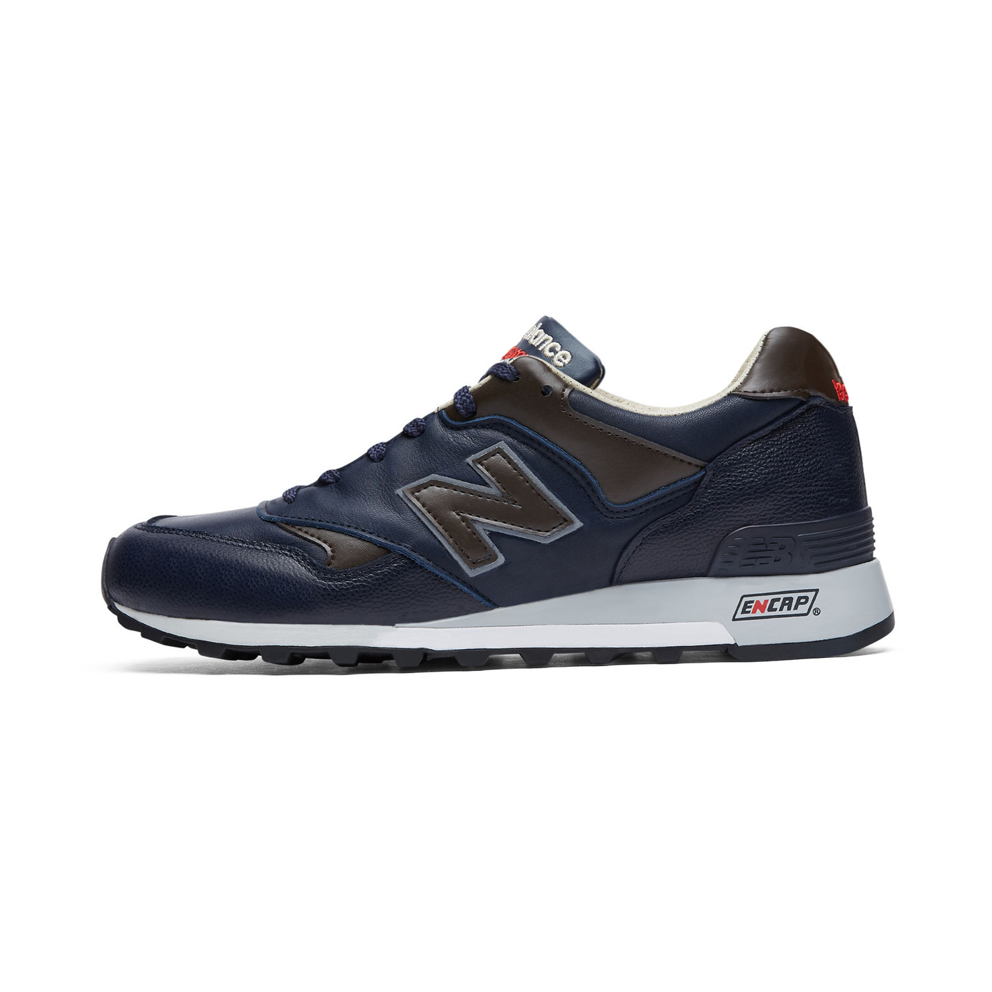 New Balance M577 GNB - Made in England Navy / Brown / Red M577GNB